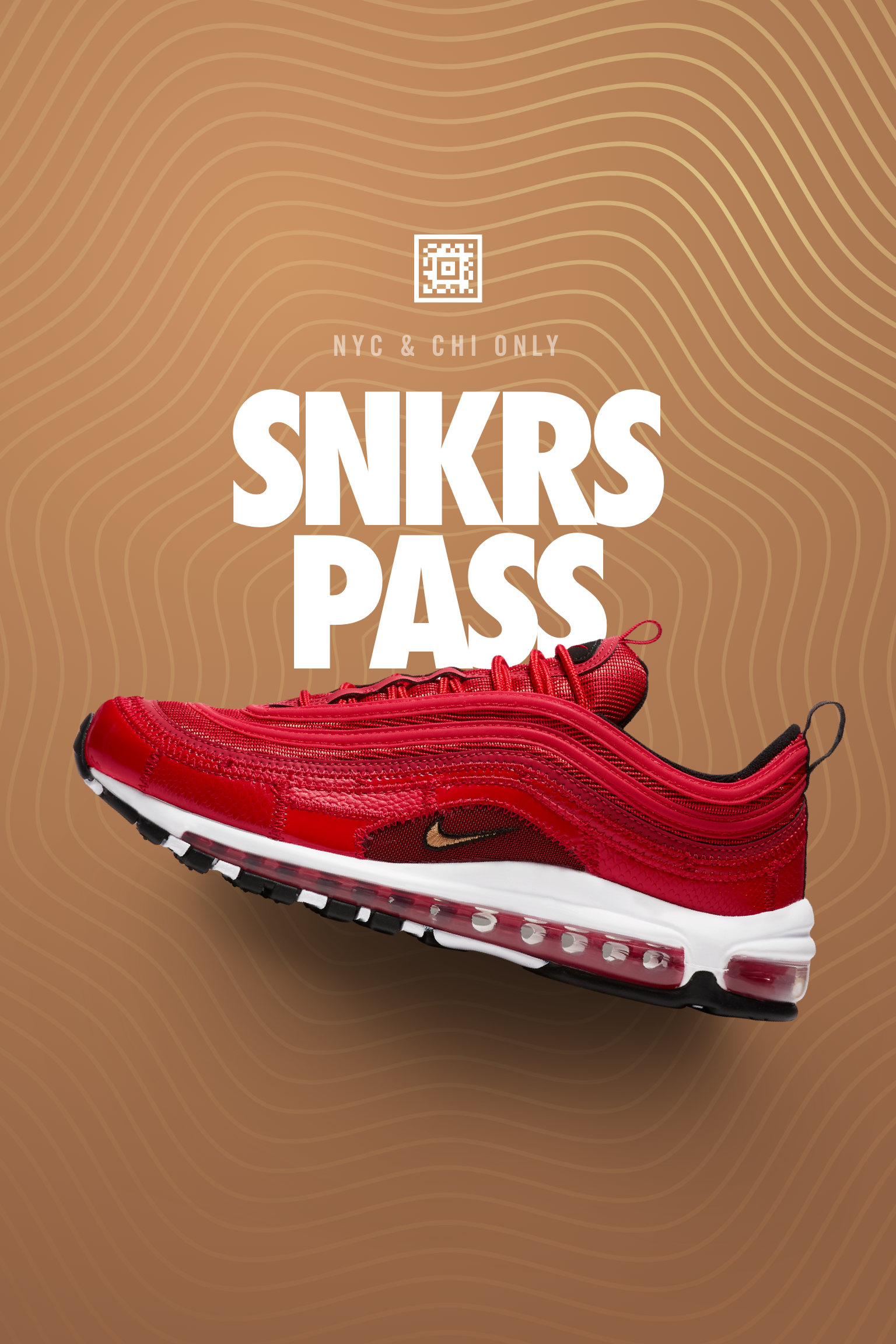 d4c7dbe0f6d9ff Nike Air Max 97 CR7  Portugal Patchwork  SNKRS Pass NYC   Chicago ...
