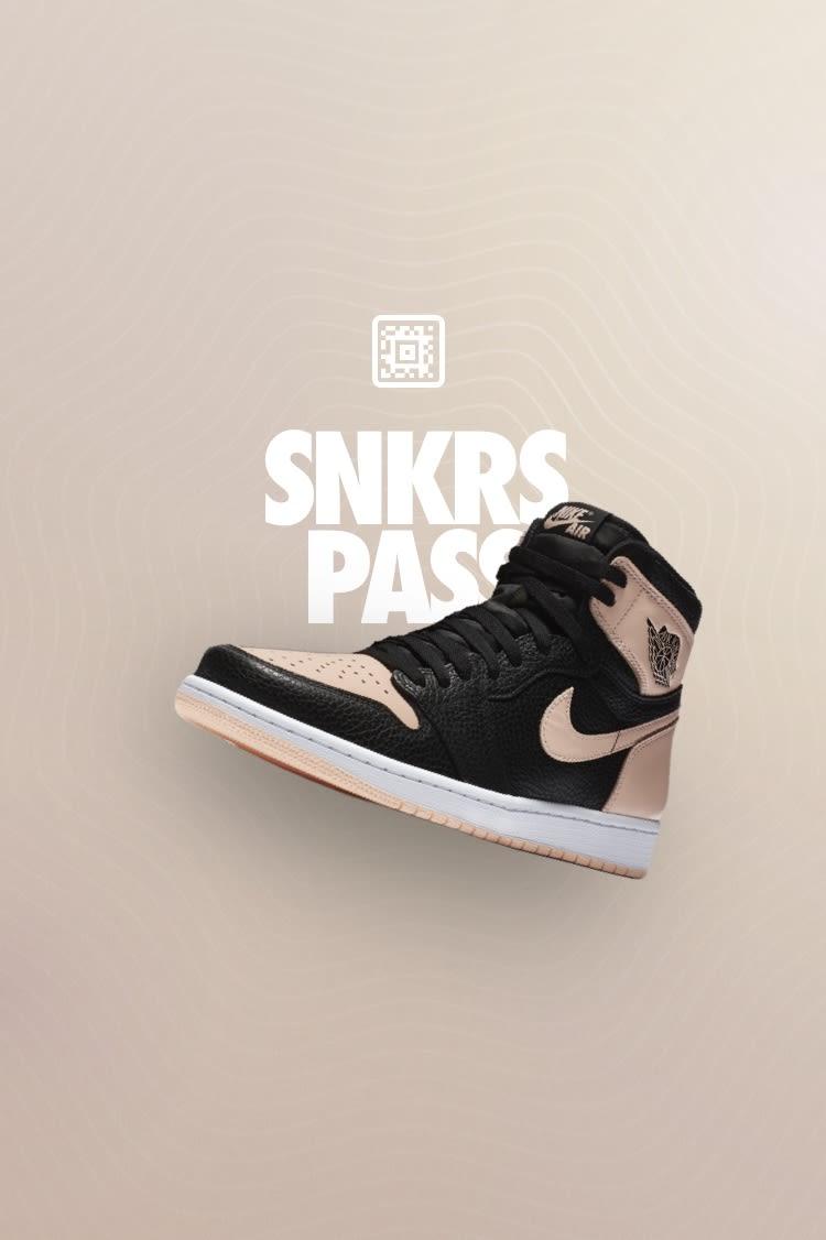 SNKRS Pass: Air Jordan I 'Black/Pink' 21 Mercer