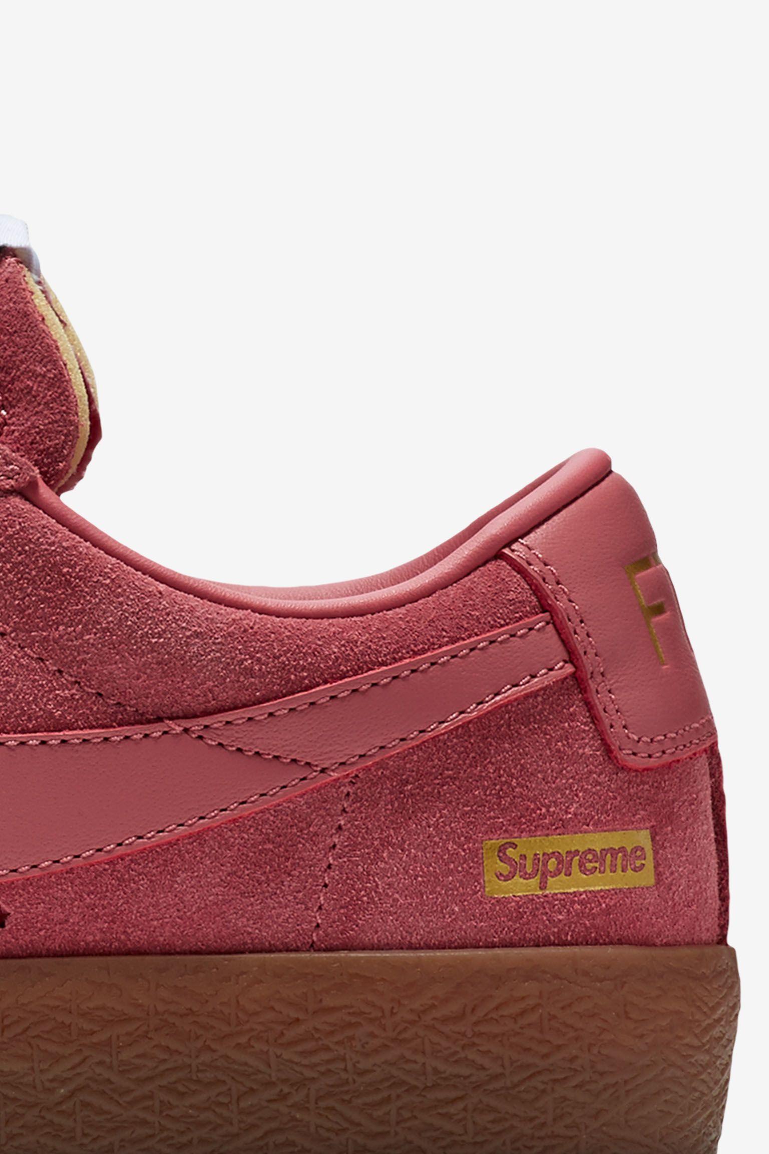 Nike Blazer Low GT x Supreme 'Desert Bloom' Release Date