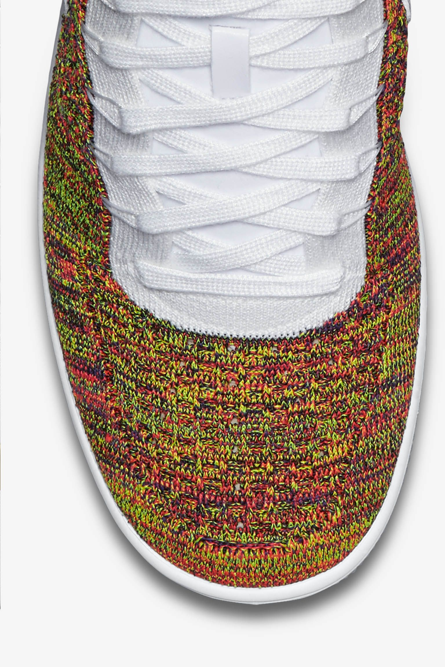 Nike Air Force 1 Ultra Flyknit 'White & Multicolor' Release Date