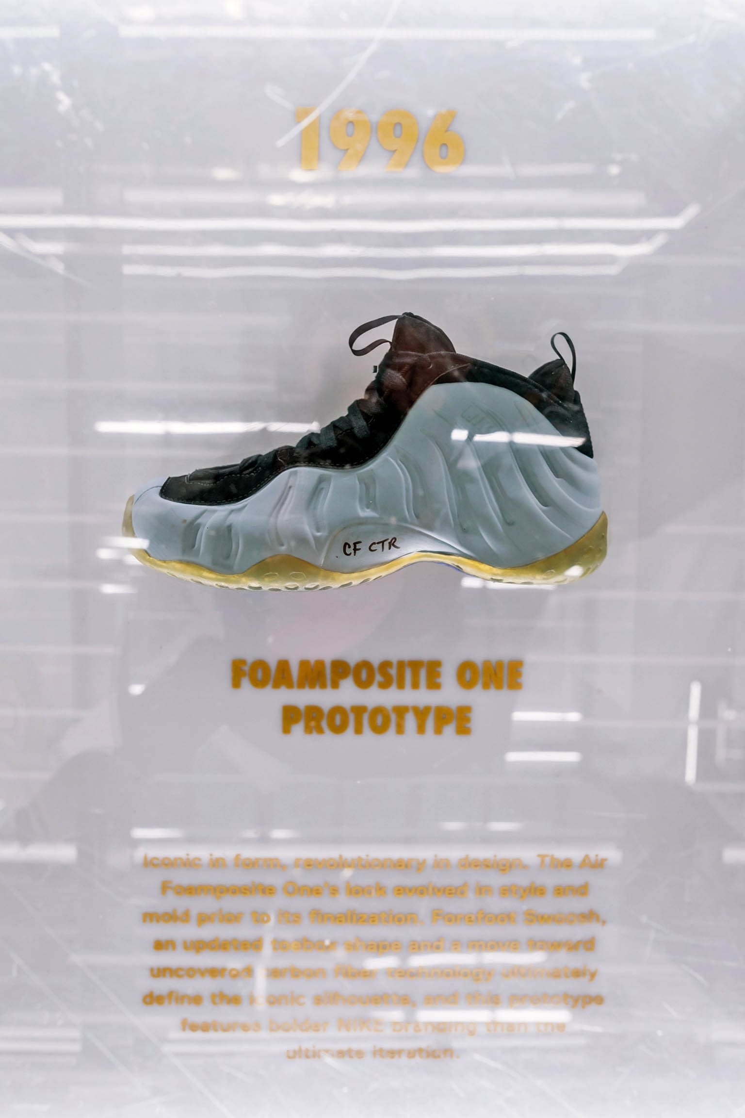 Golden Air: A Celebration of Foamposite