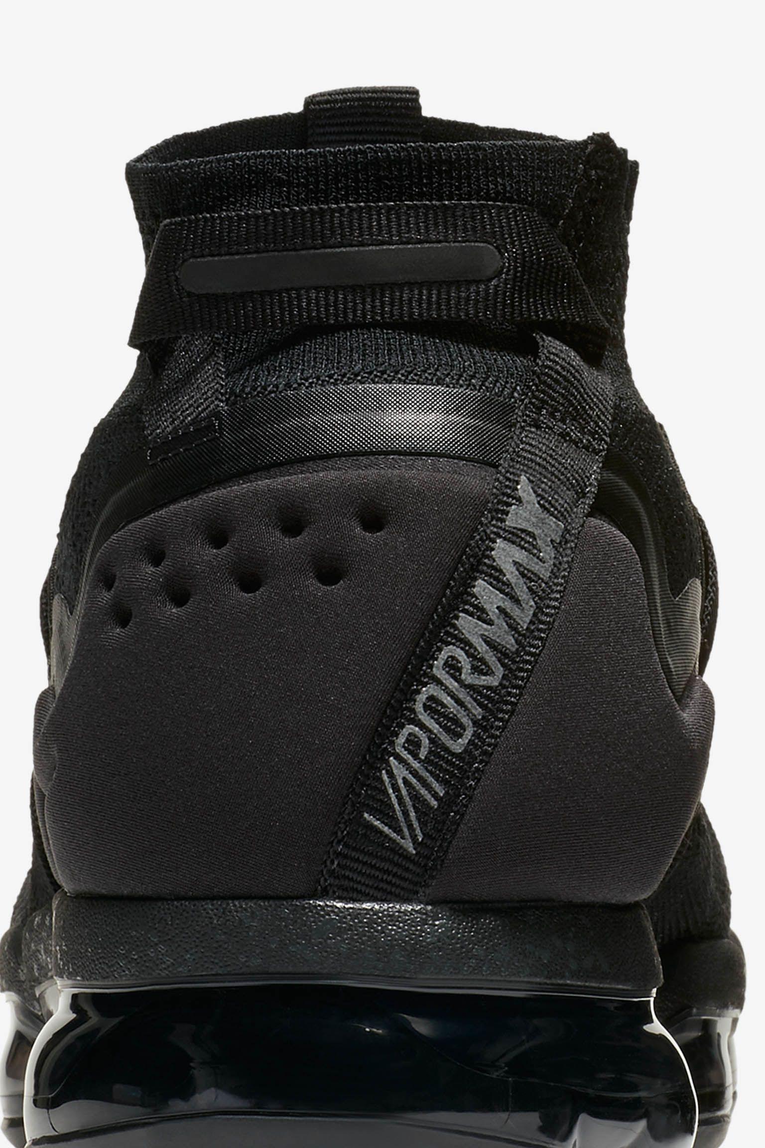Nike Air Vapormax Flyknit Utility 'Black' Release Date