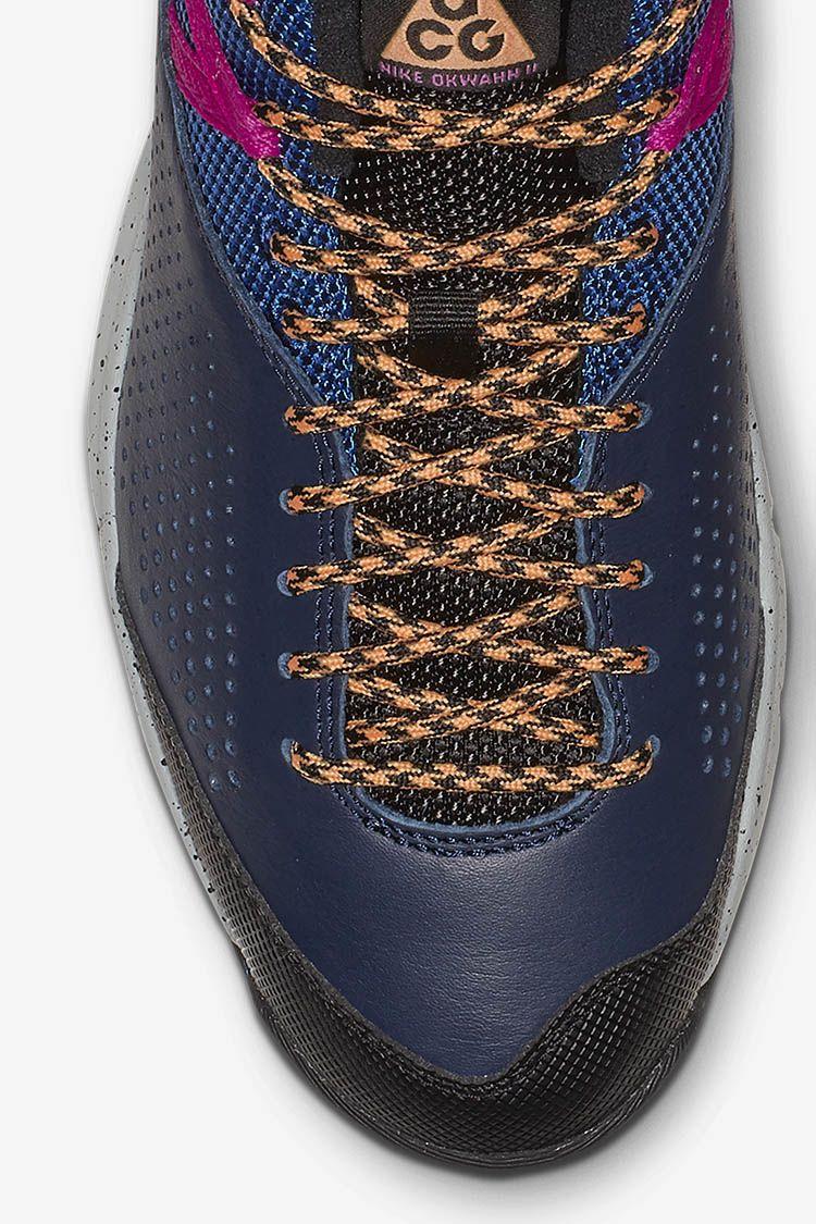 Nike ACG Okwahn 2 'Obsidian & Indigo Force & Hyper Magenta' Release Date