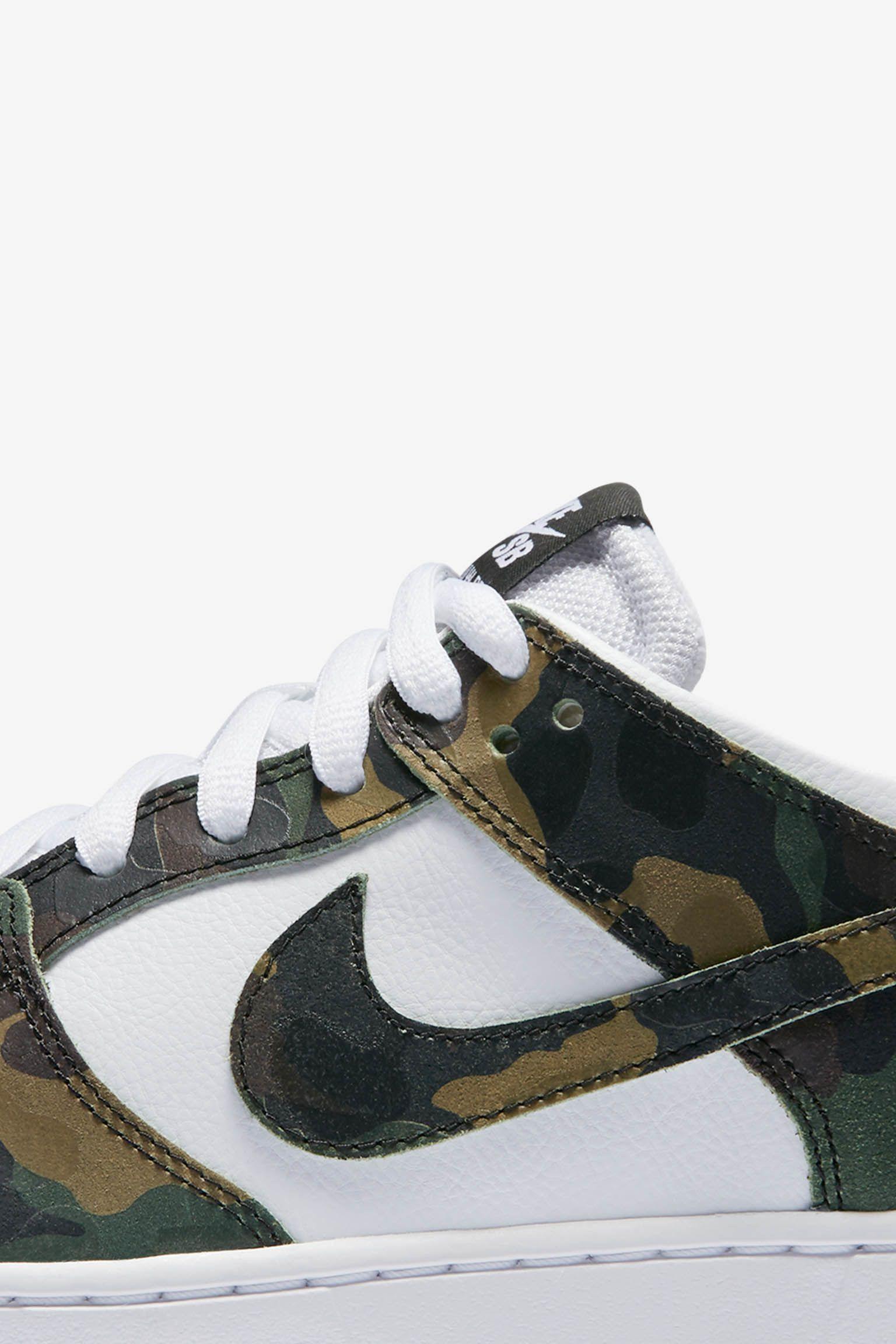 Nike Dunk Low SB Pro 'Camo Green'