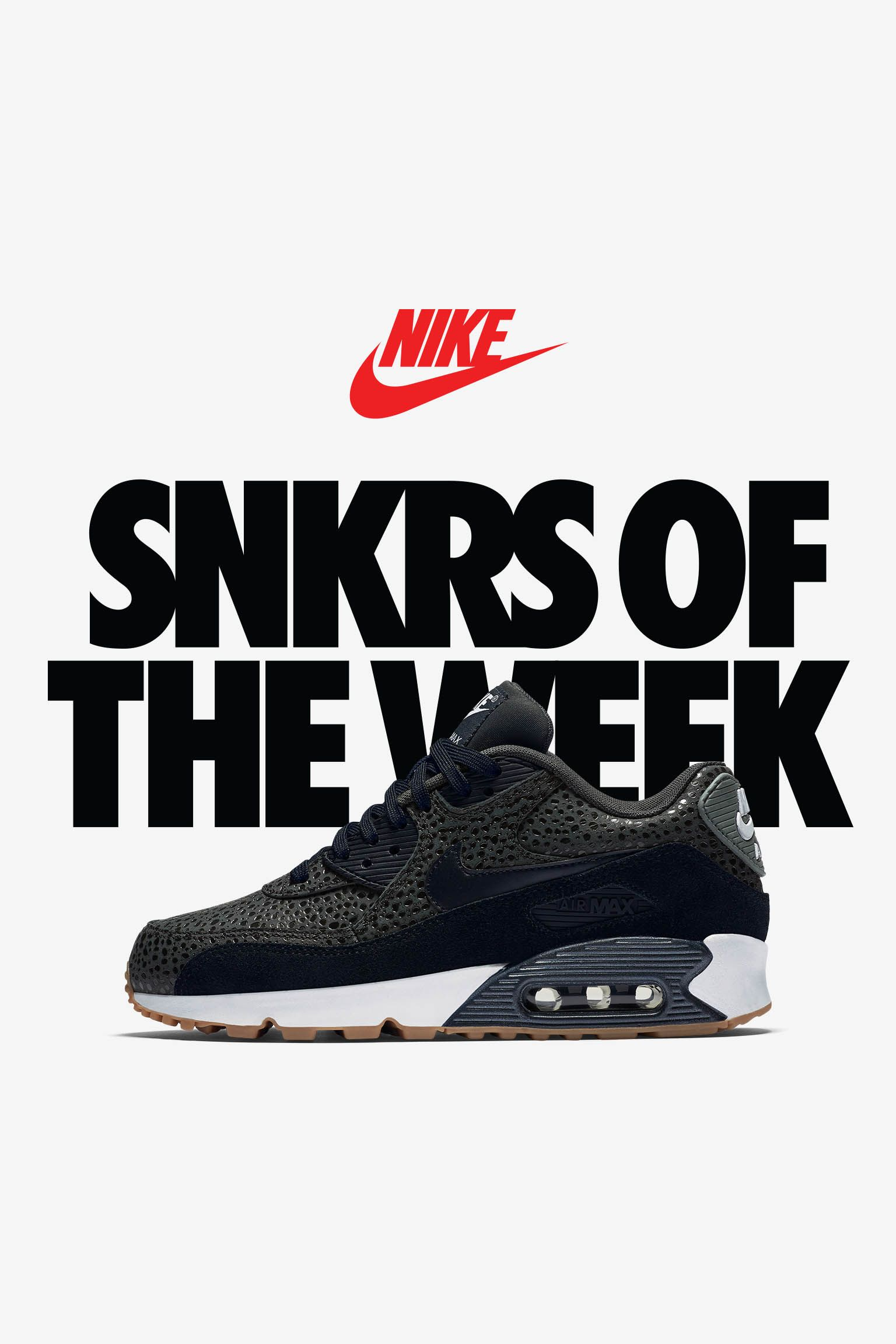 Women's Nike Air Max 90 'Black Safari'