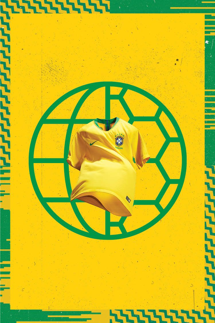 2018 Brasil Stadium Home Kit