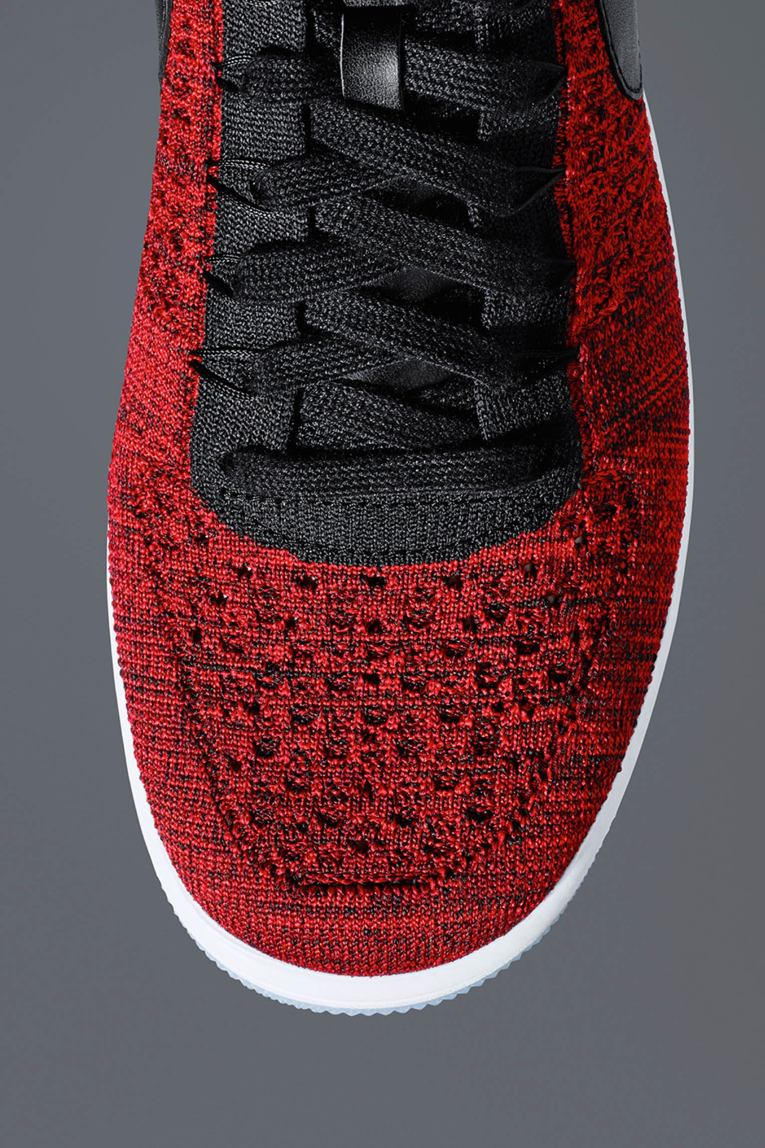 Nike Air Force 1 Ultra Flyknit 'University Red & Black' Release Date