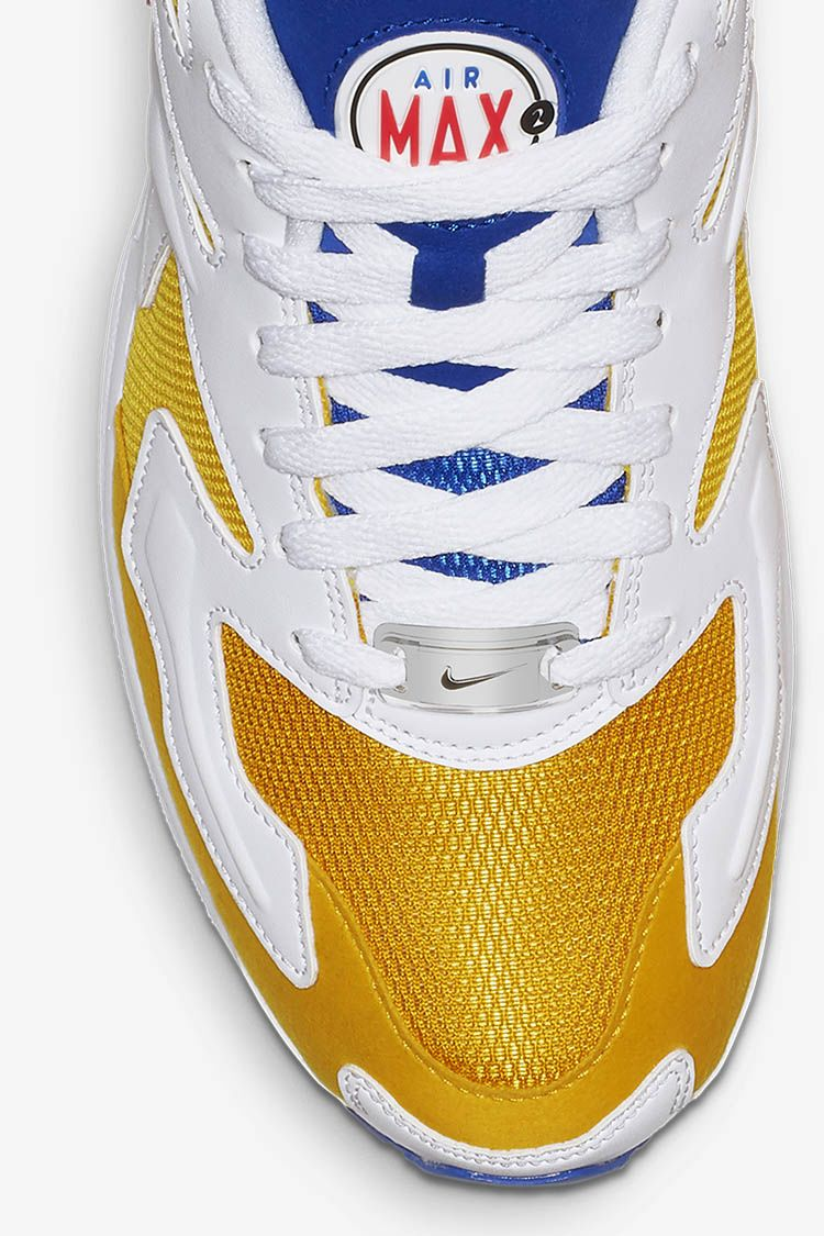 Nike Air Max2 Light 'University Gold & Racer Blue & Flash Crimson' Release Date