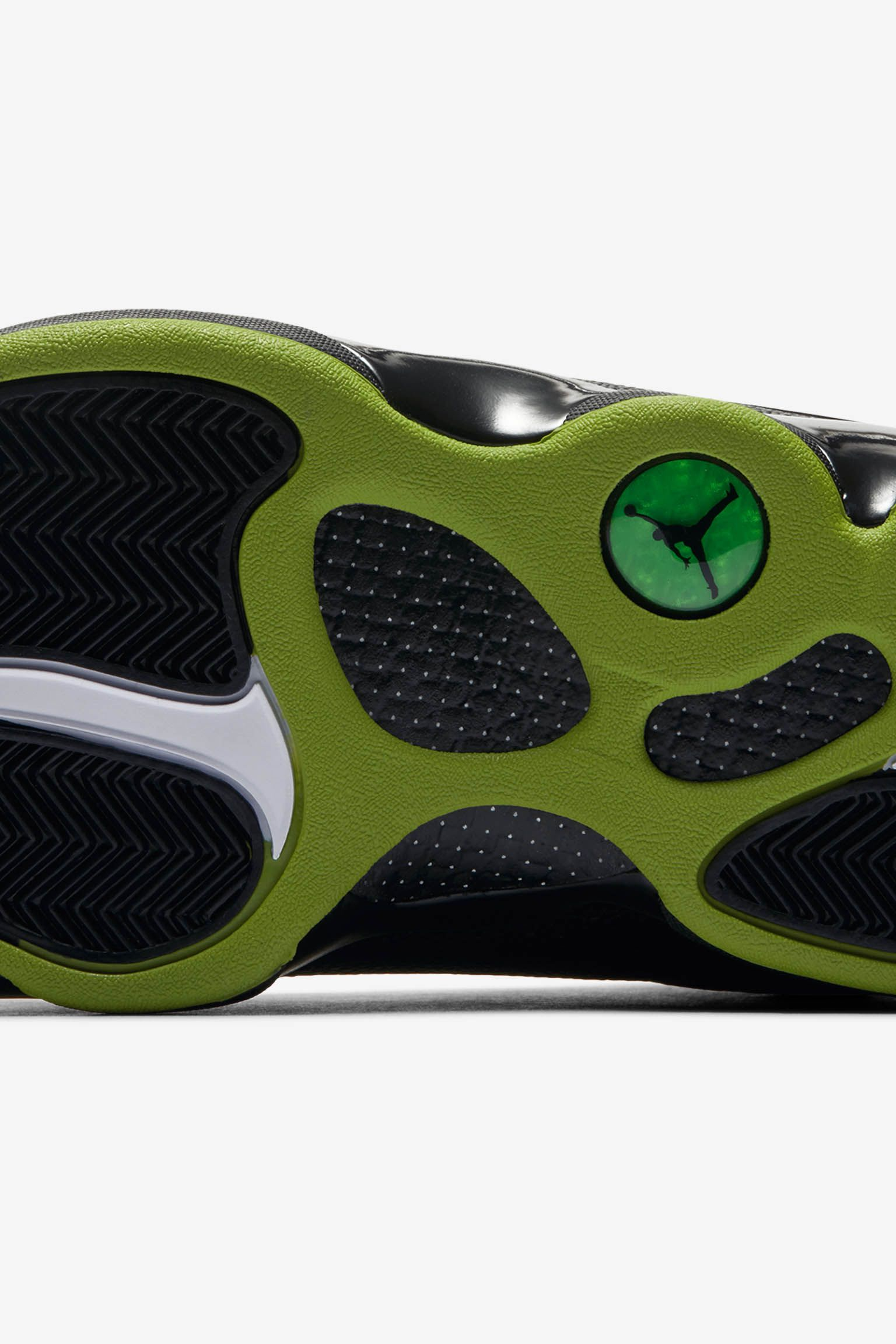 Air Jordan 13  Black   Altitude Green  Release Date. 5ee629f64