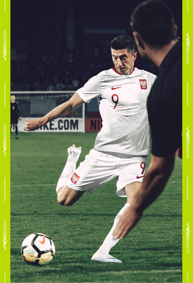 Robert Lewandowski Hypervenom Phantom III Elite DF FG