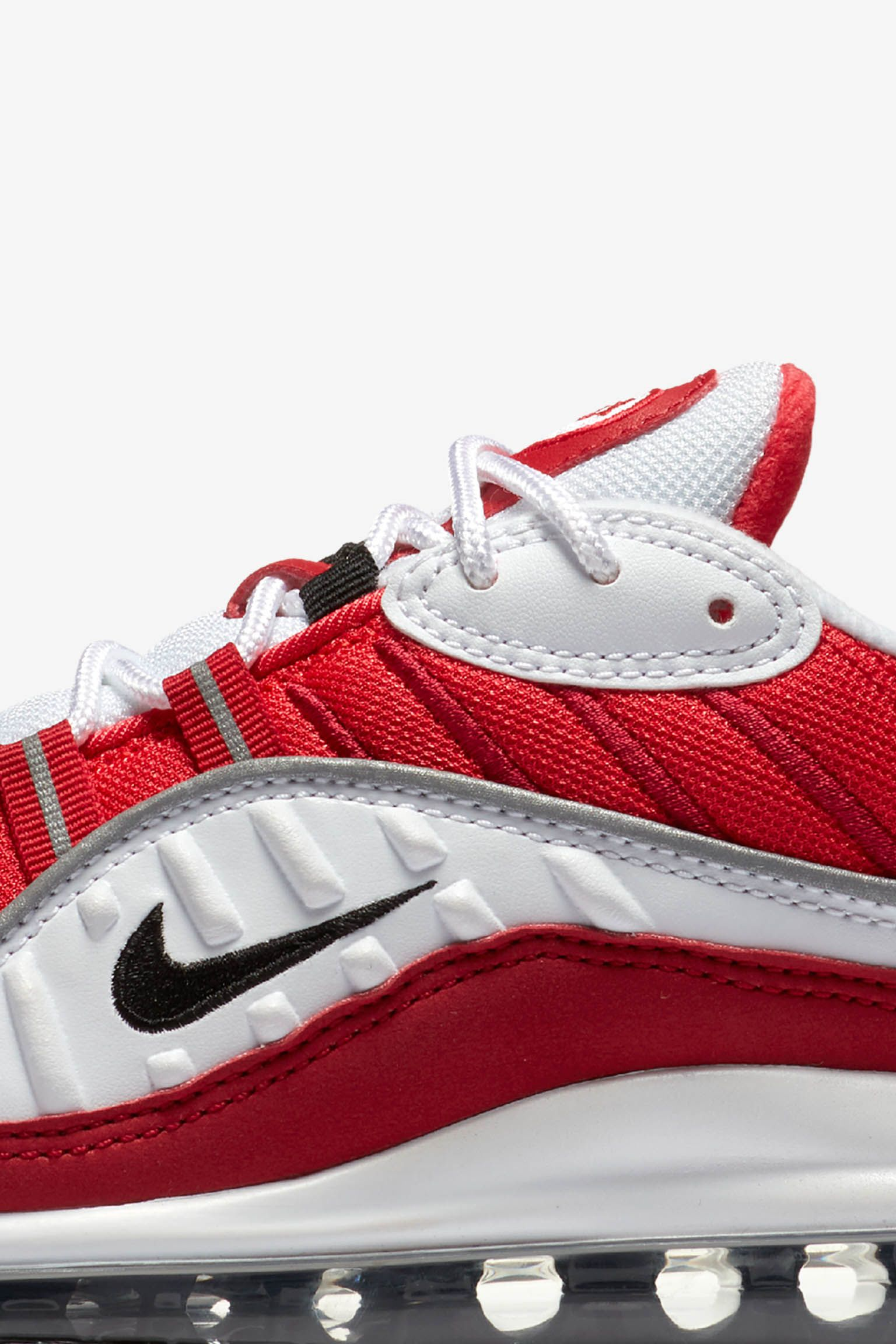 Nike Womens Air Max 98 'White & Gym Red' Release Date
