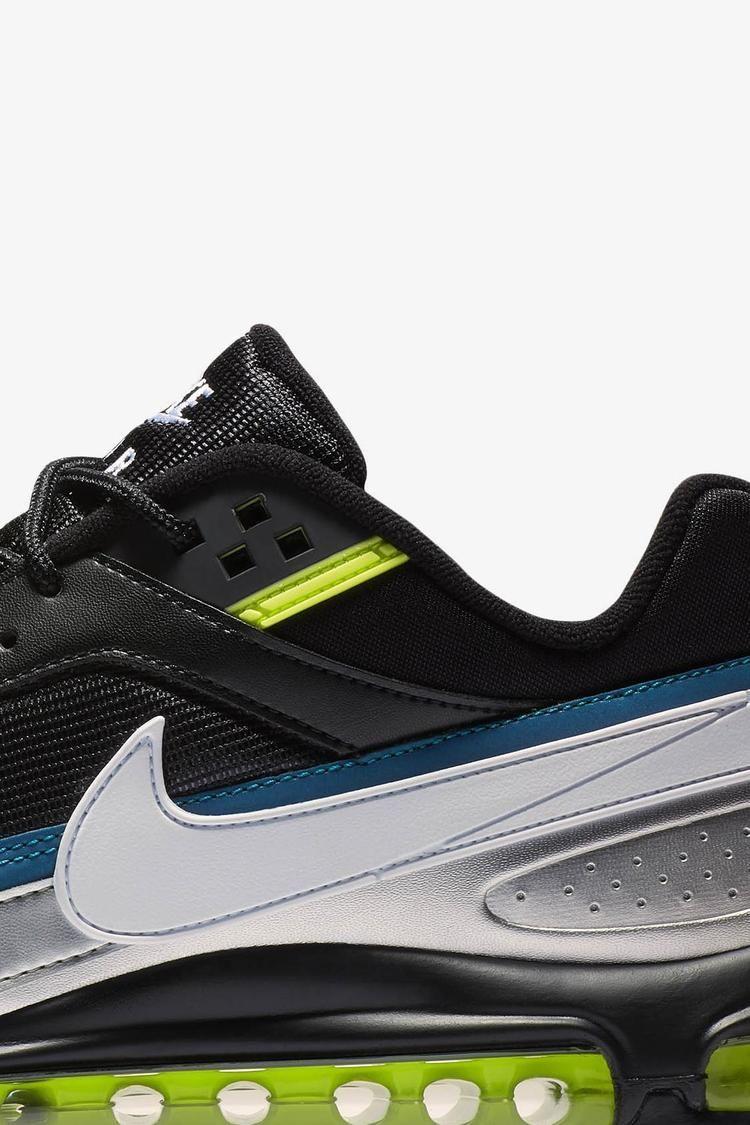 Nike Air Max 97/BW 'Black & Metallic Silver & Atlantic Blue' Release Date