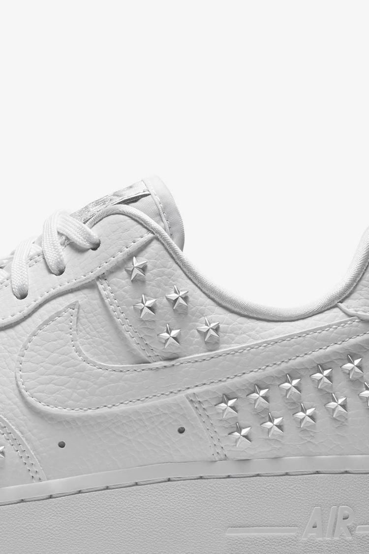 Air Force 1 XX Star Studded 'White' Release Date