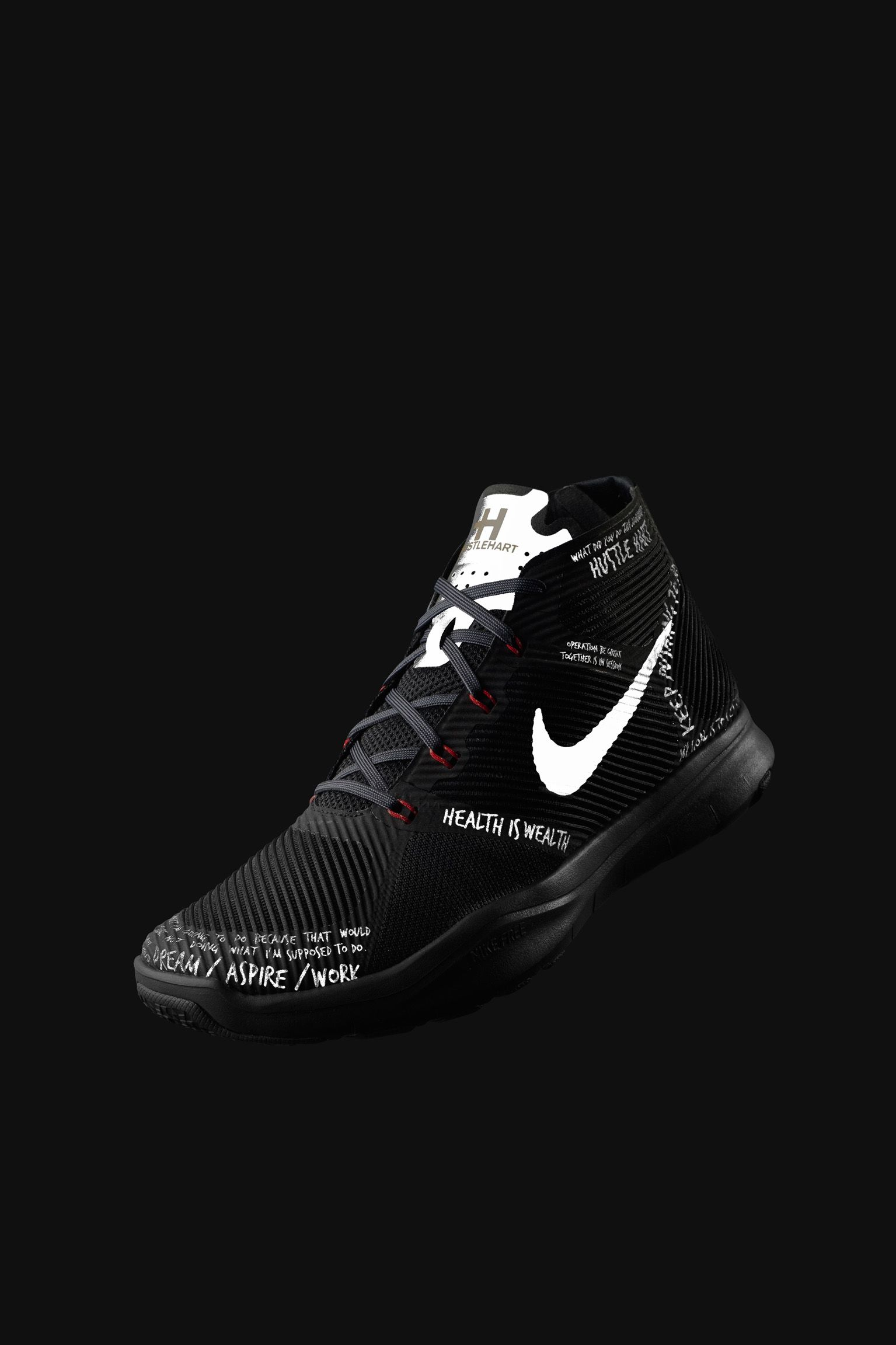 Nike Free Train Instinct 'Hart' Black