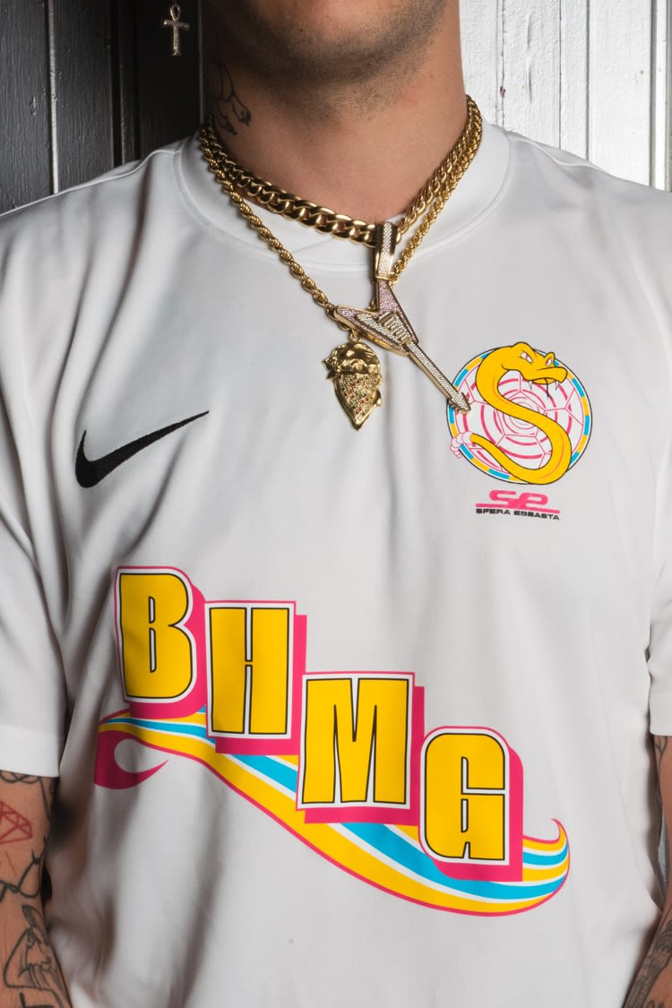 2018 Sfera Ebbasta Collaboration Trikot