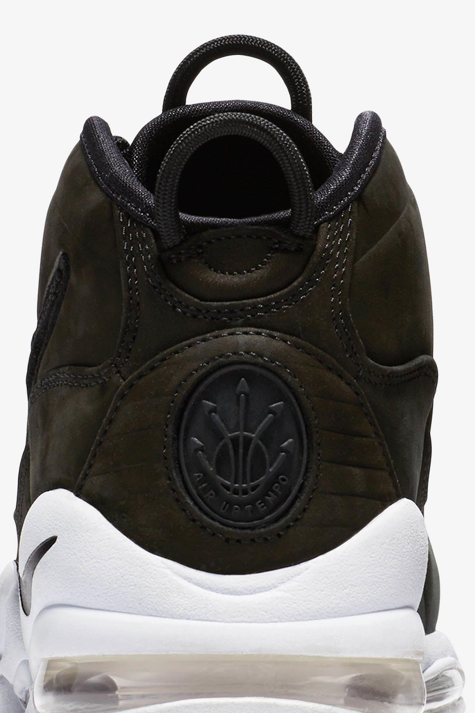 Nike Max Uptempo 'černá a bílá'