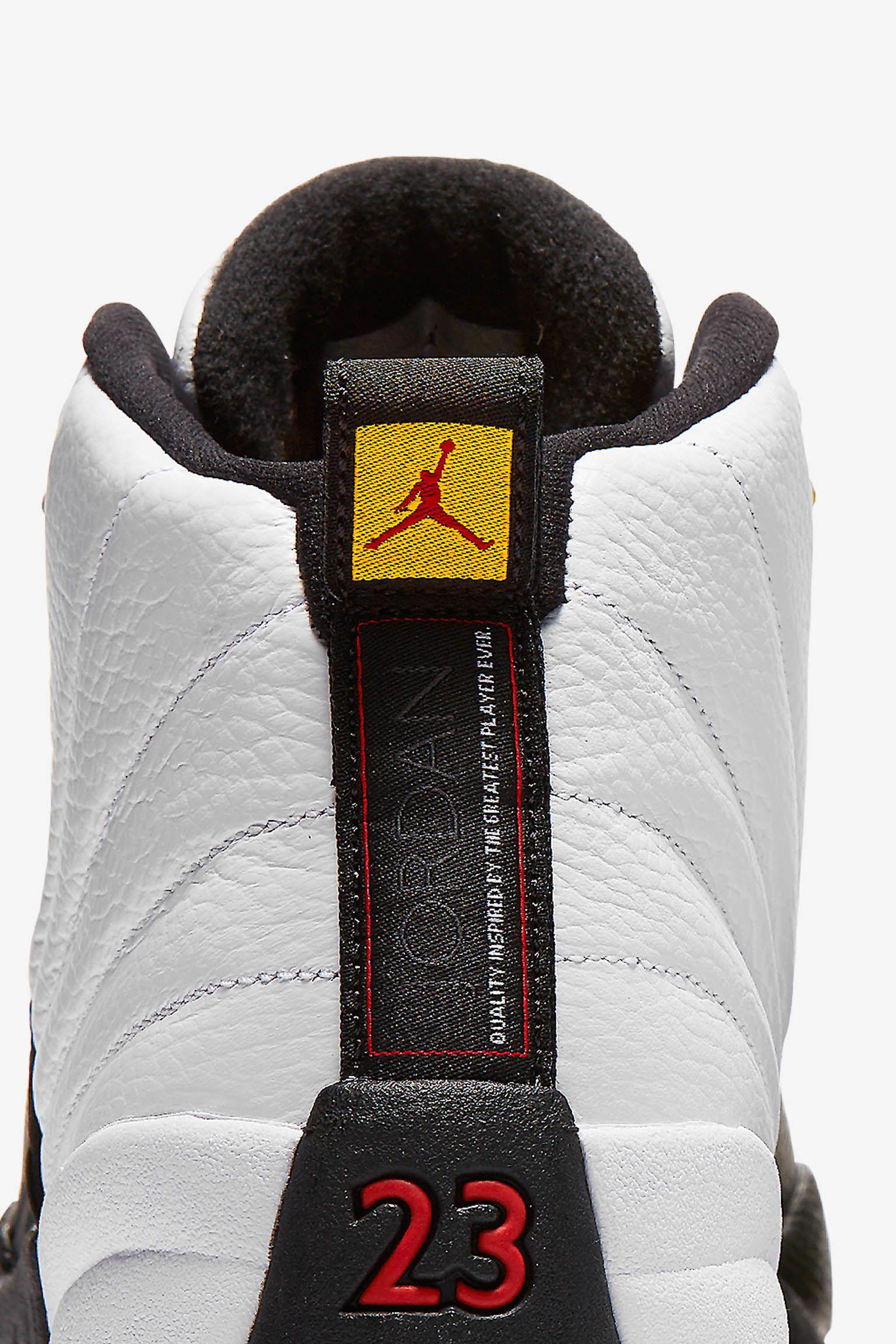 Air Jordan 12 Retro 'Taxi'. Release Date