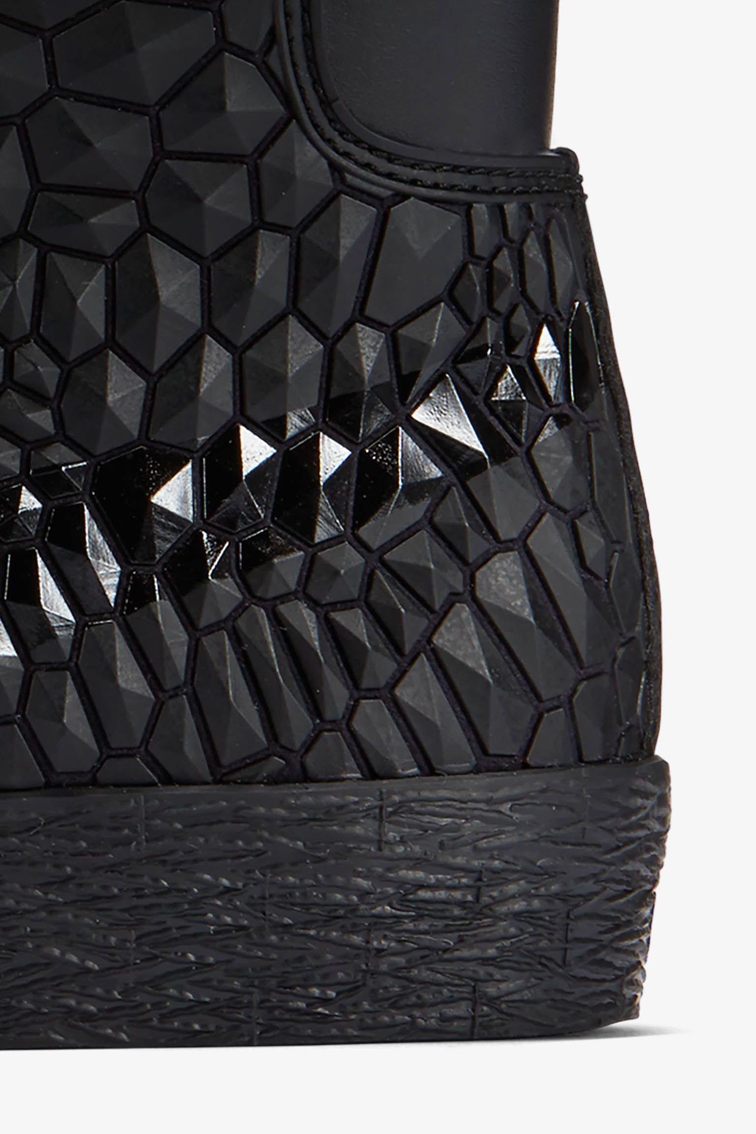 Women's Nike Blazer Mid Diamondback 'Triple Black'