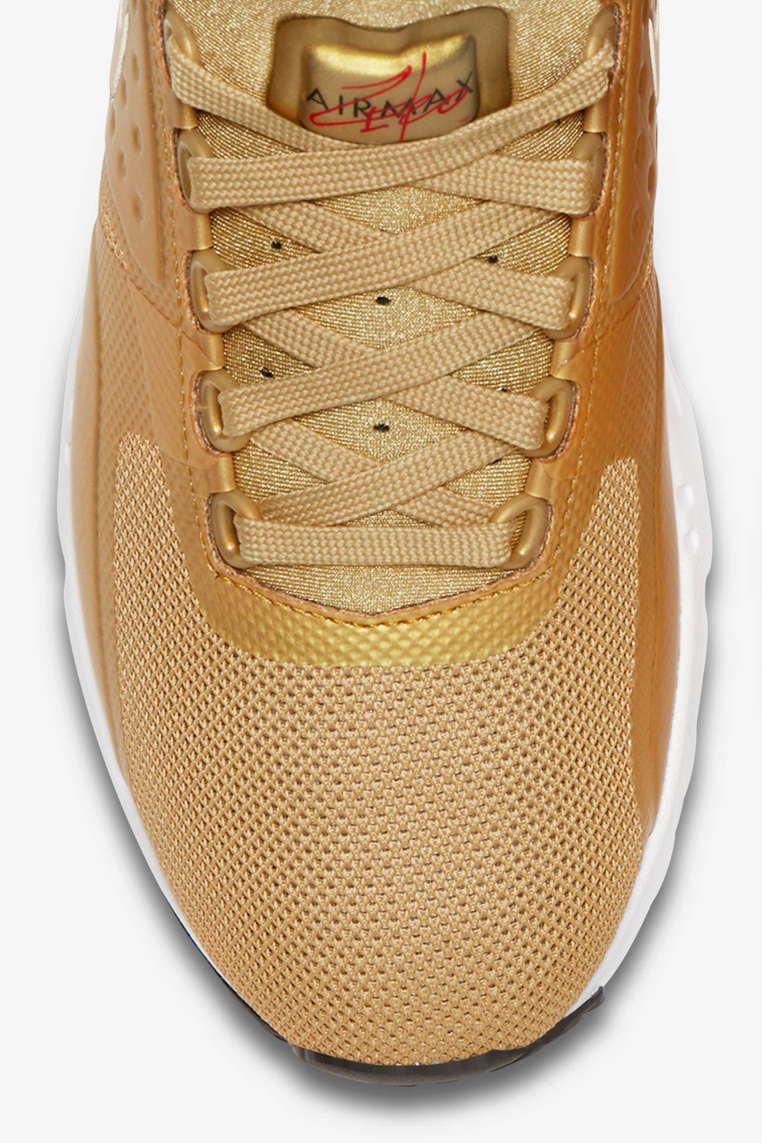 Women's Nike Air Max Zero 'Metallic Gold' Release Date