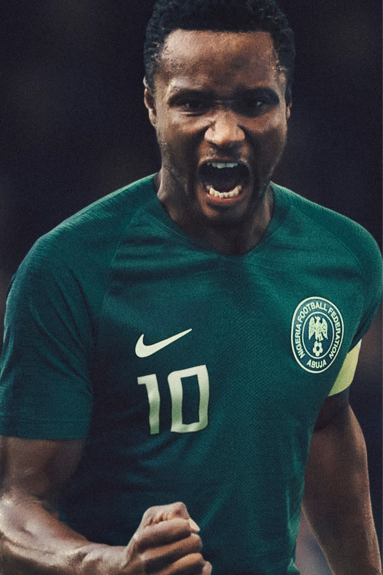 2018 Nigeria Stadium Away Kit. Nigeria National Football Team 8c24290f6