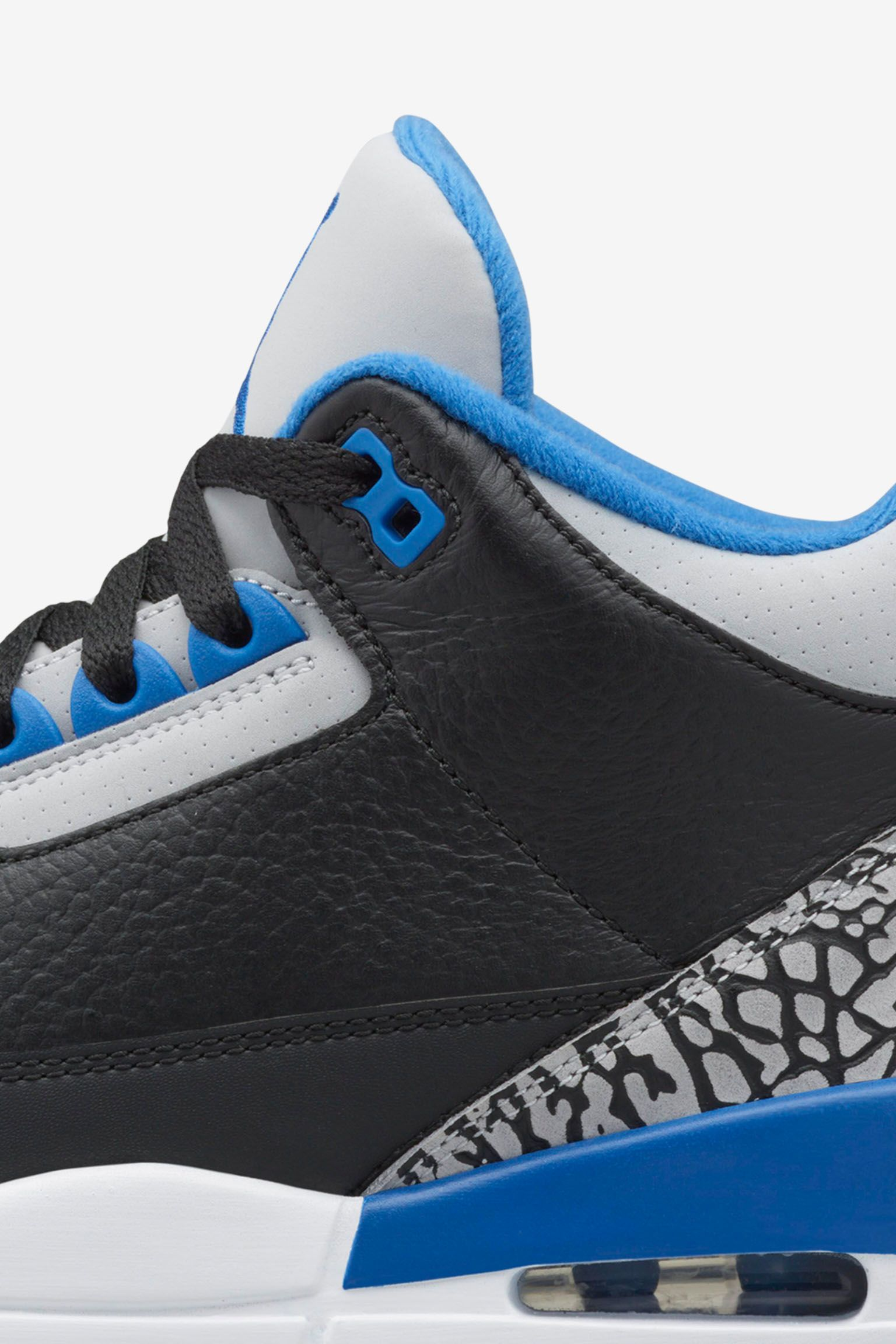 Air Jordan 3 Retro 'Sport Blue'. Release Date