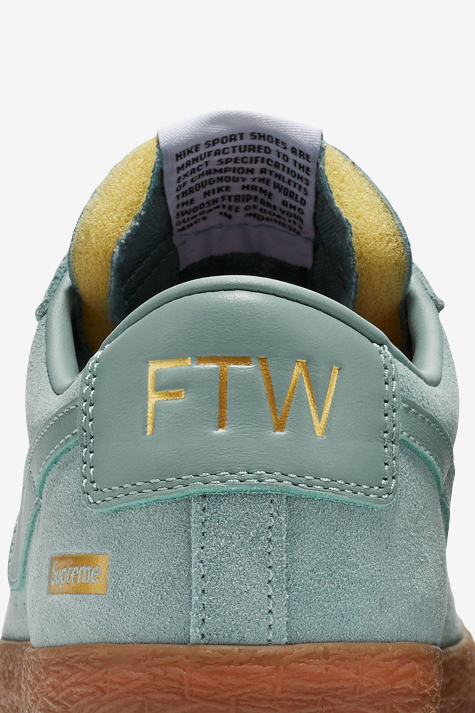 Nike Blazer Low GT x Supreme 'Cannon' Release Date