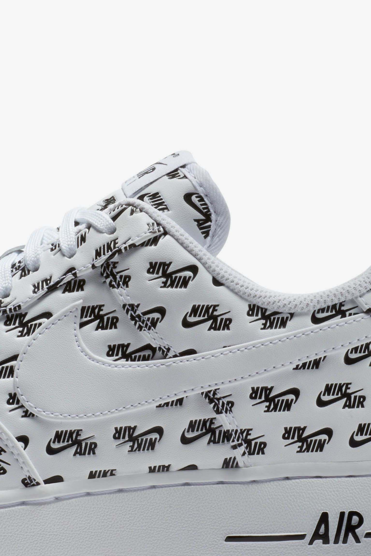 Nike Air Force 1 07' 'White & Black' Release Date