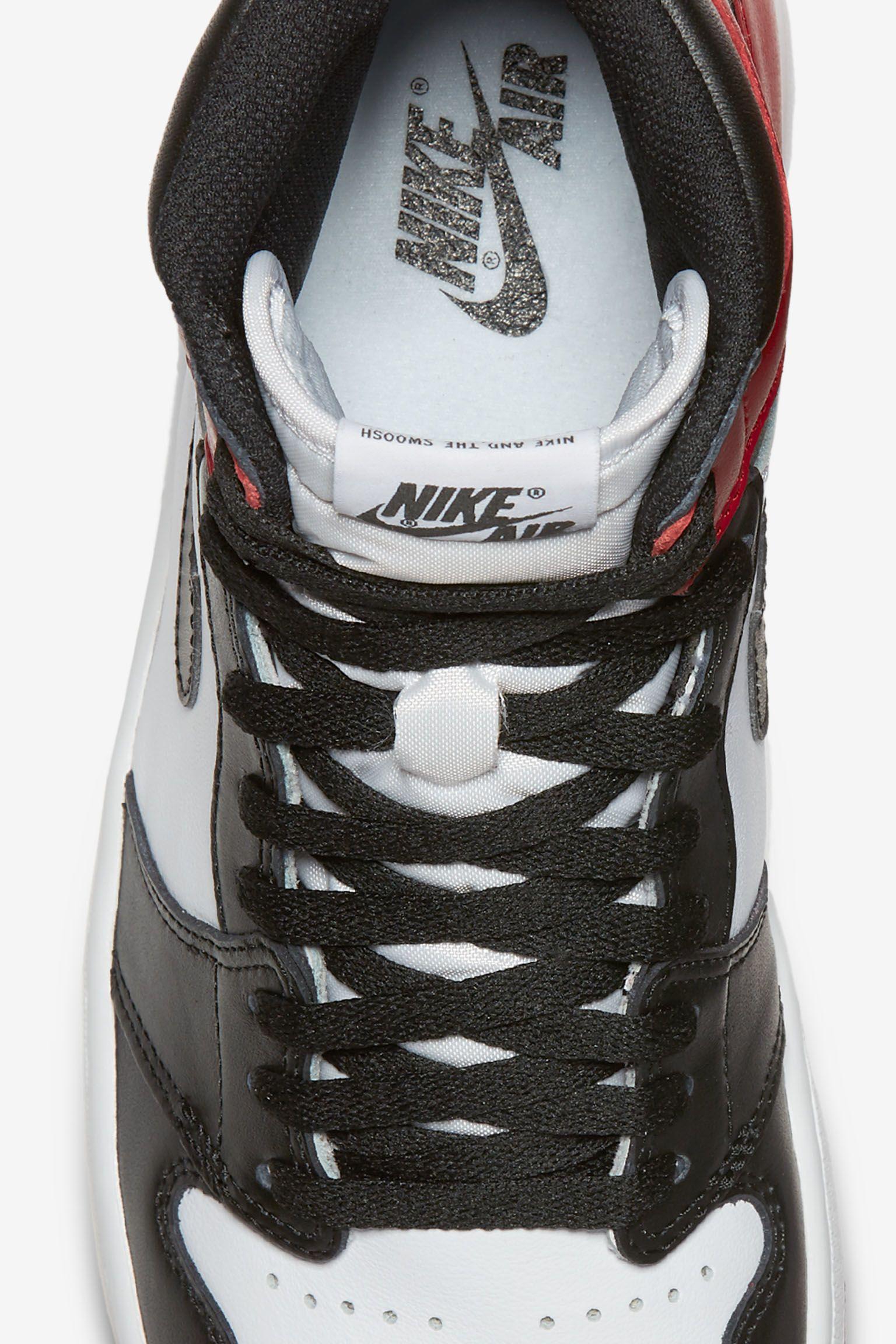 Air Jordan 1 Retro 'Black Toe' Release Date