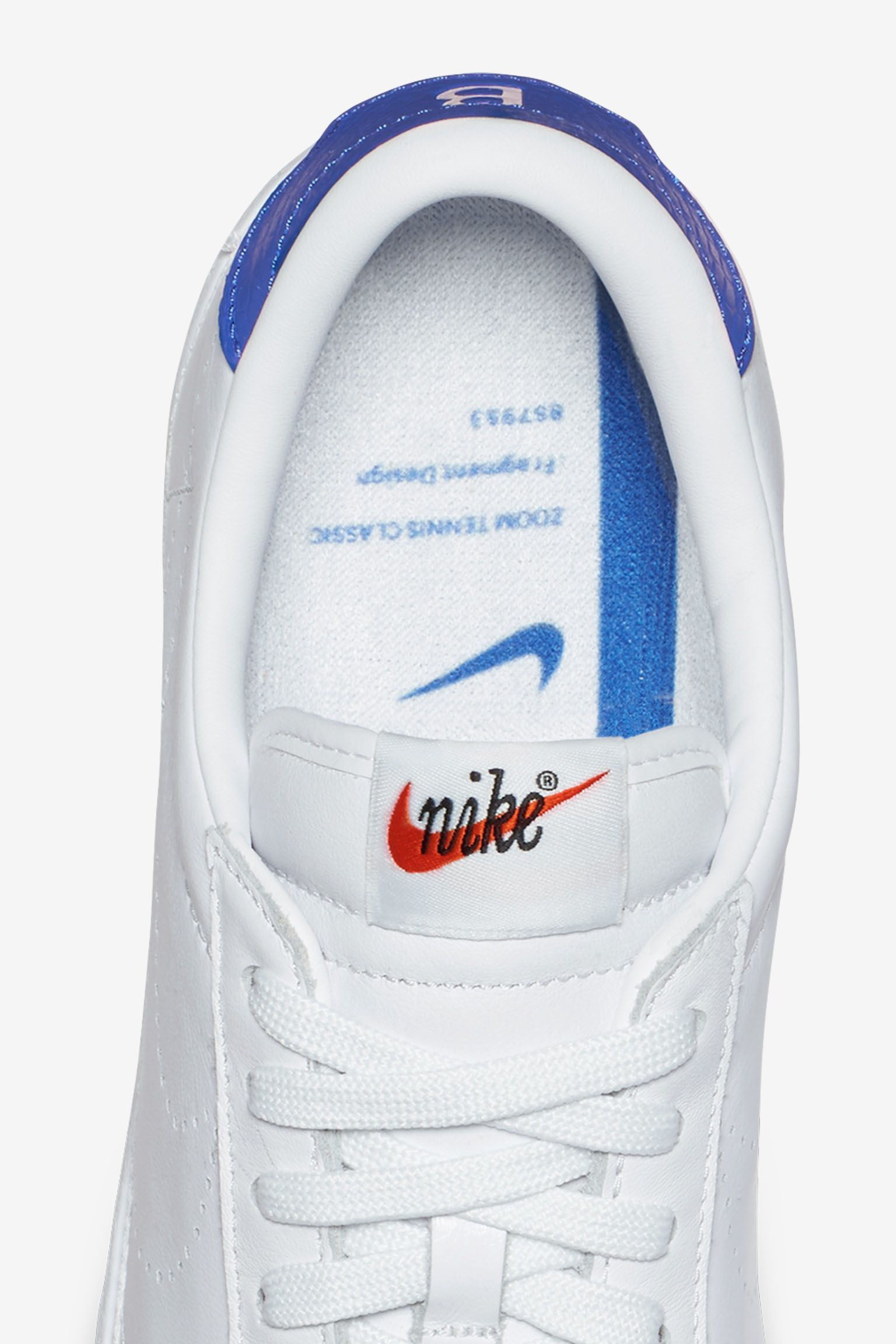 NikeLab x Fragment Zoom Tennis Classic 'White & Game Royal'