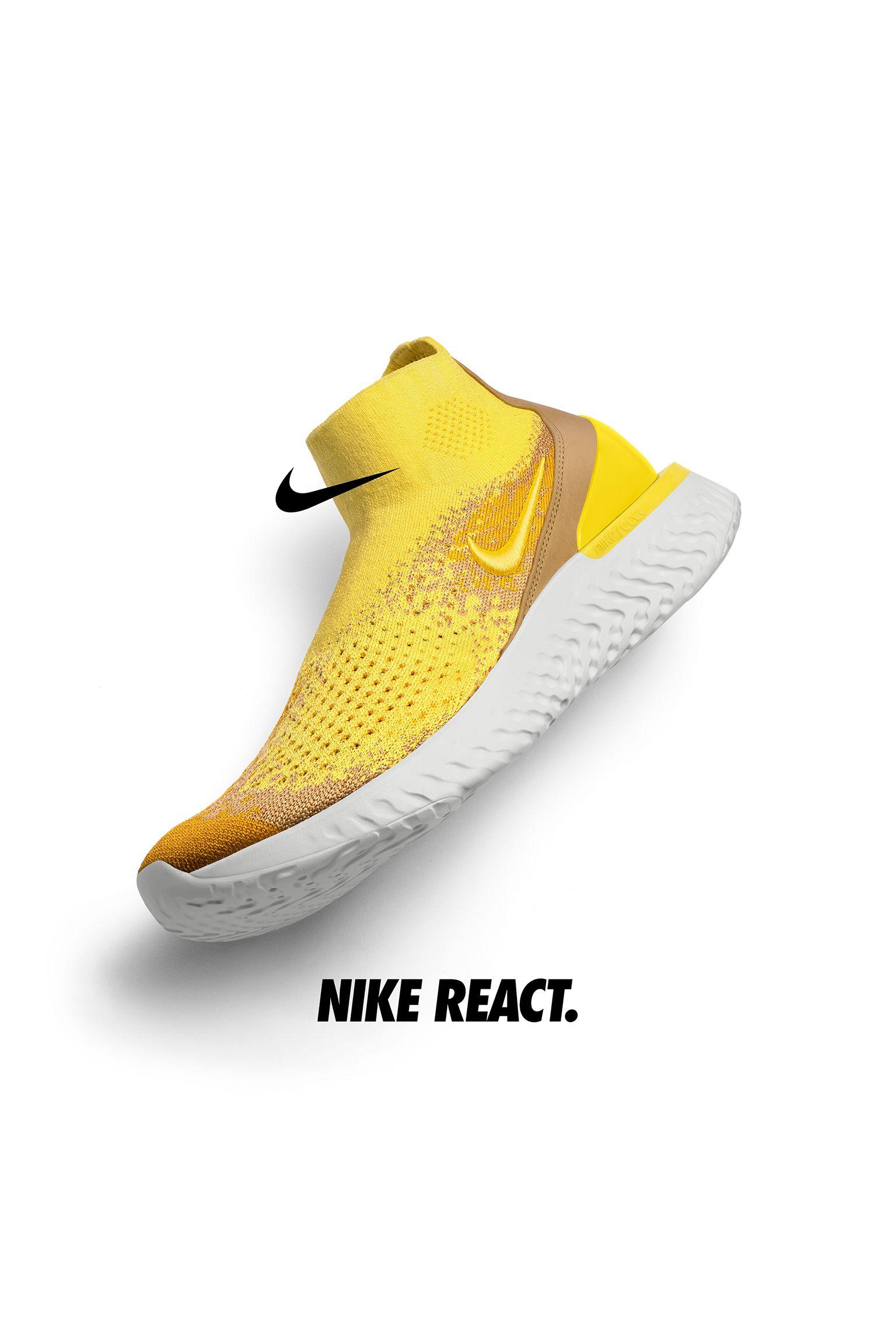 【NIKE公式】ナイキ ライズ リアクト 'Sonic Yellow and Dark Stucco' (BQ6176-707 / Rise React )
