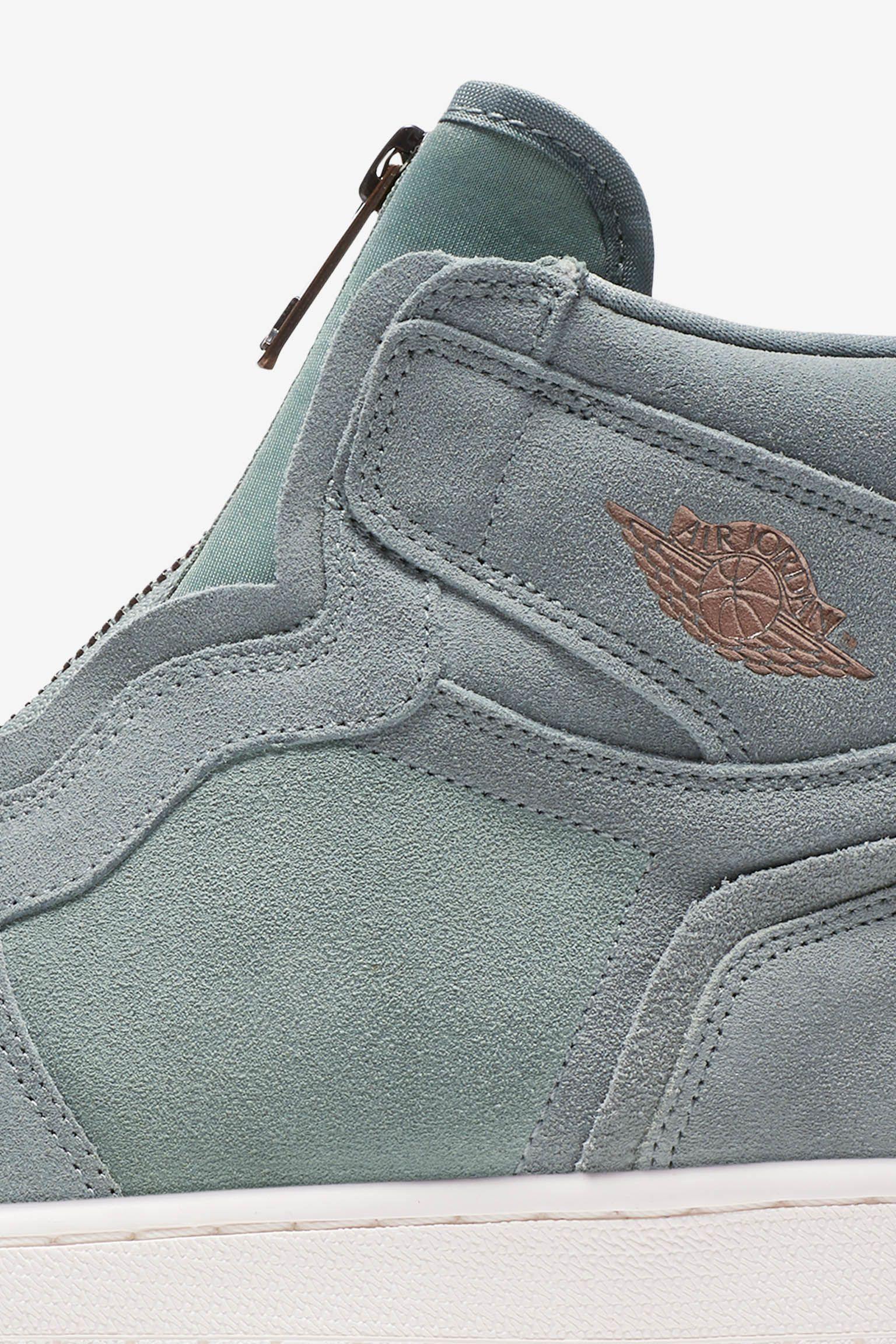 Women's Air Jordan 1 High Zip 'Mica Green & Sail' Release Date