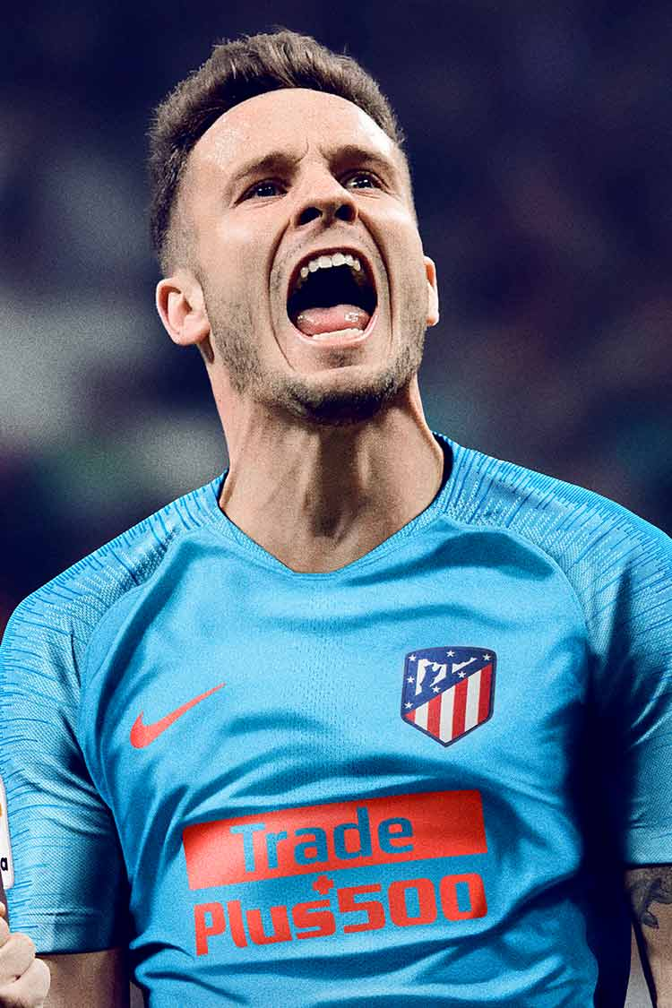 2018/19 Atletico Madrid Stadium Away Kit