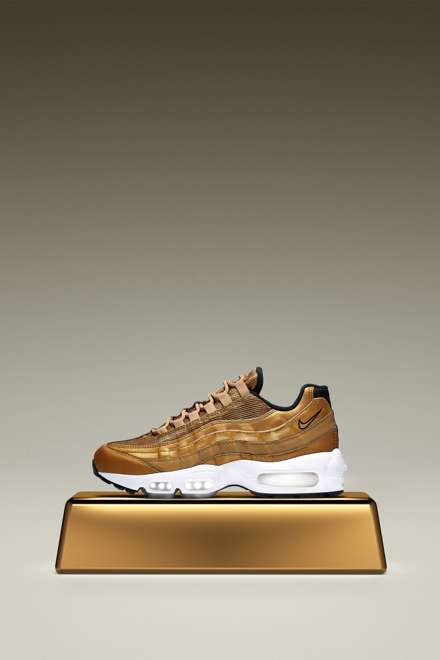 9ff650954a6 coupon womens air max 95 gold ecbed 69140