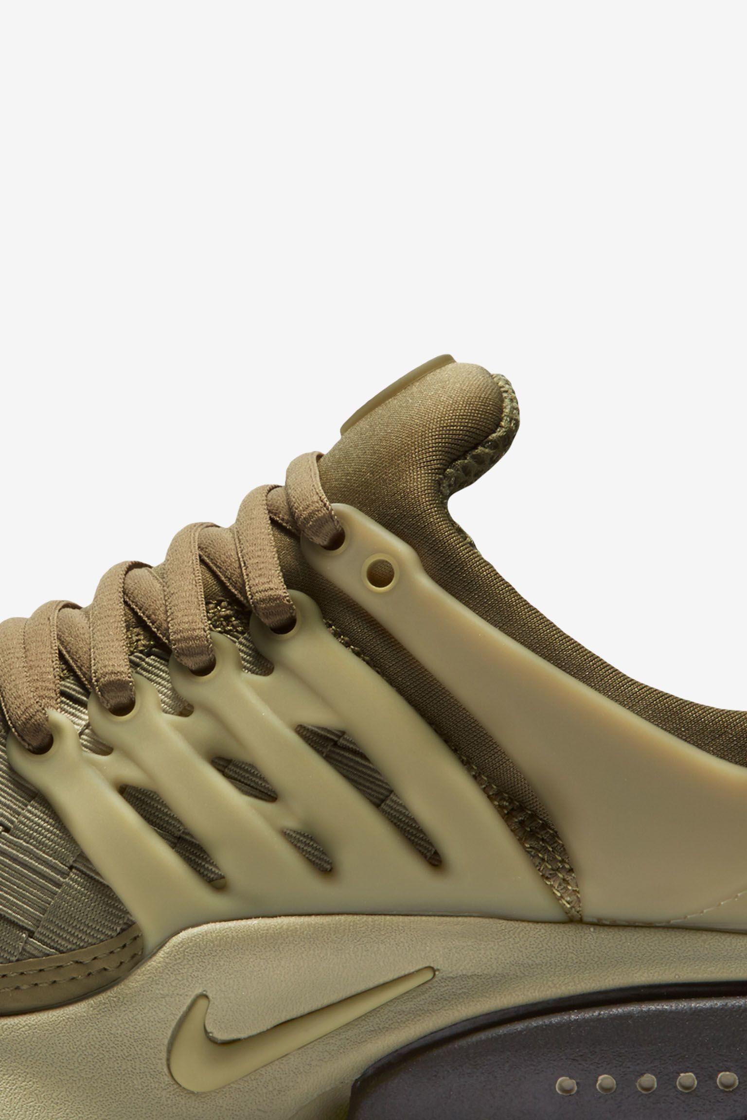 Nike Air Presto Woven 'Olive Weave'