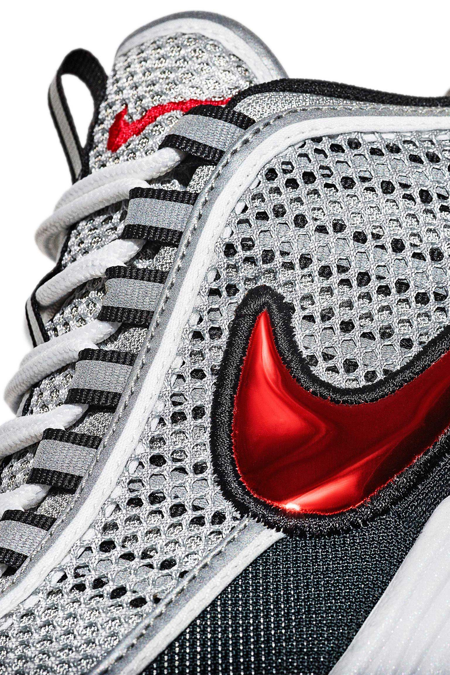 Nike Air Zoom Spiridon 'Silver & Red' Release Date