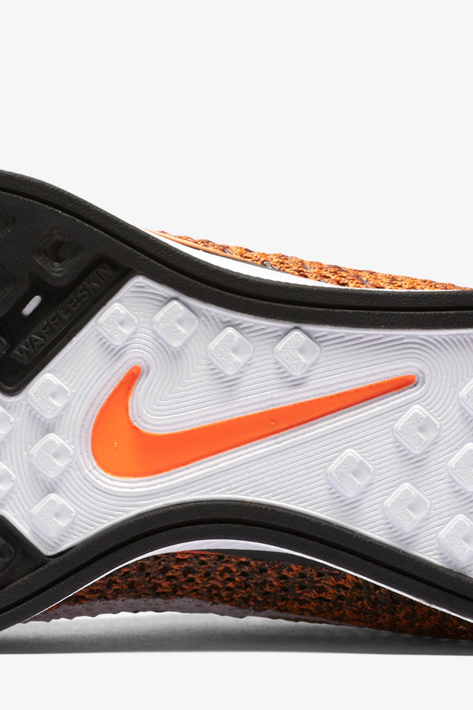 Nike Flyknit Racer 'Total Orange' Release Date
