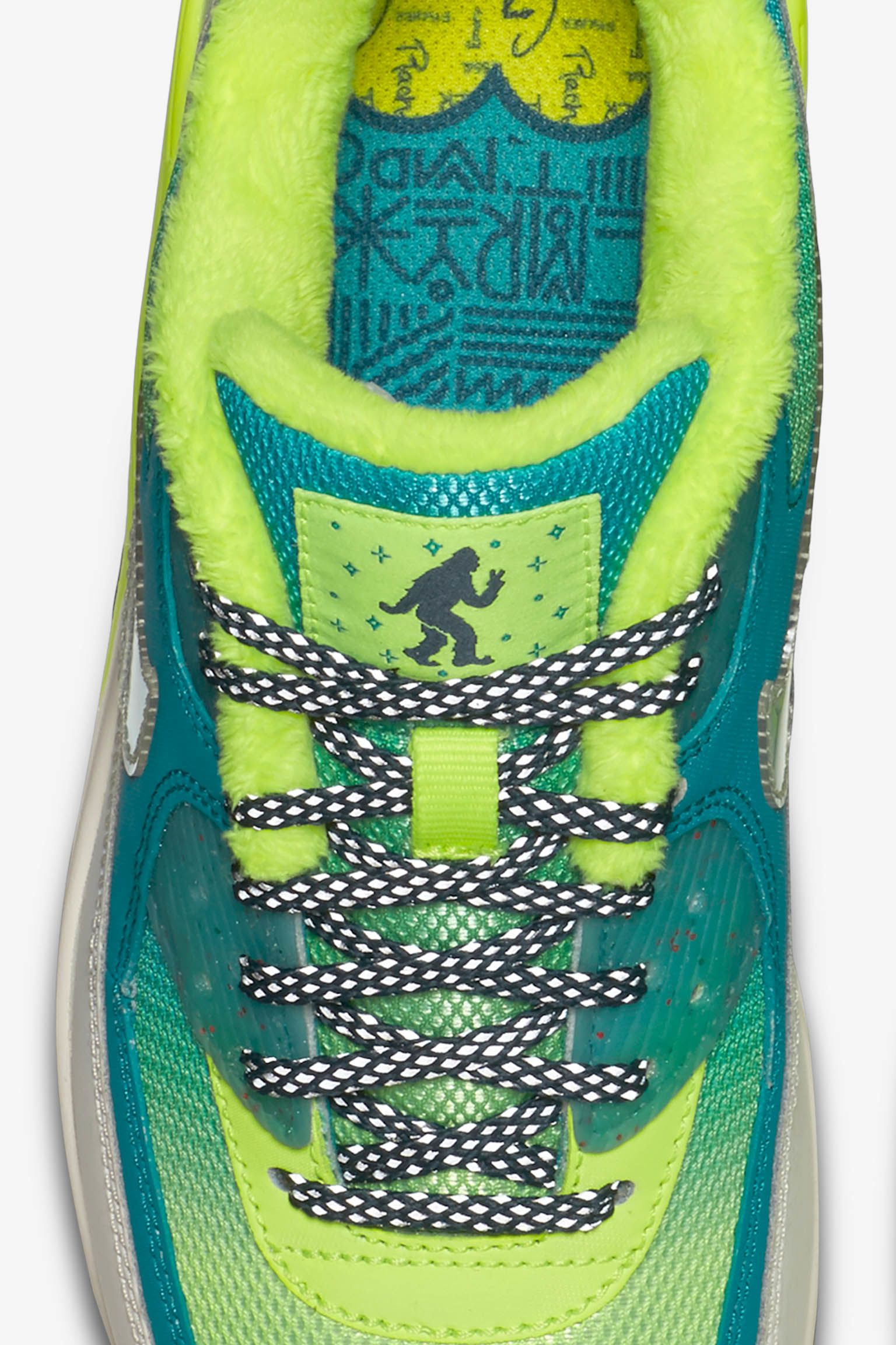 Women's Nike Air Max 90 Premium Doernbecher 'Green & Volt'