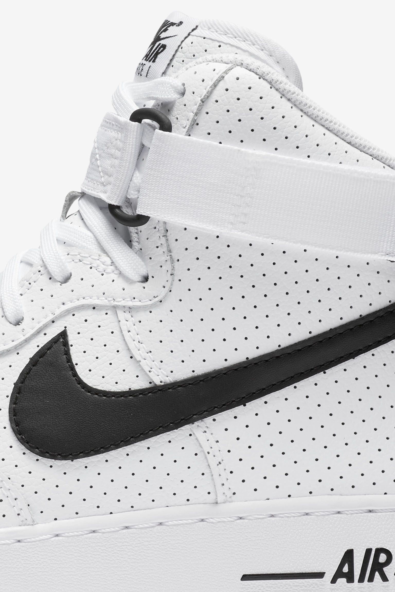 Nike Air Force 1 'Perforated Pack' White