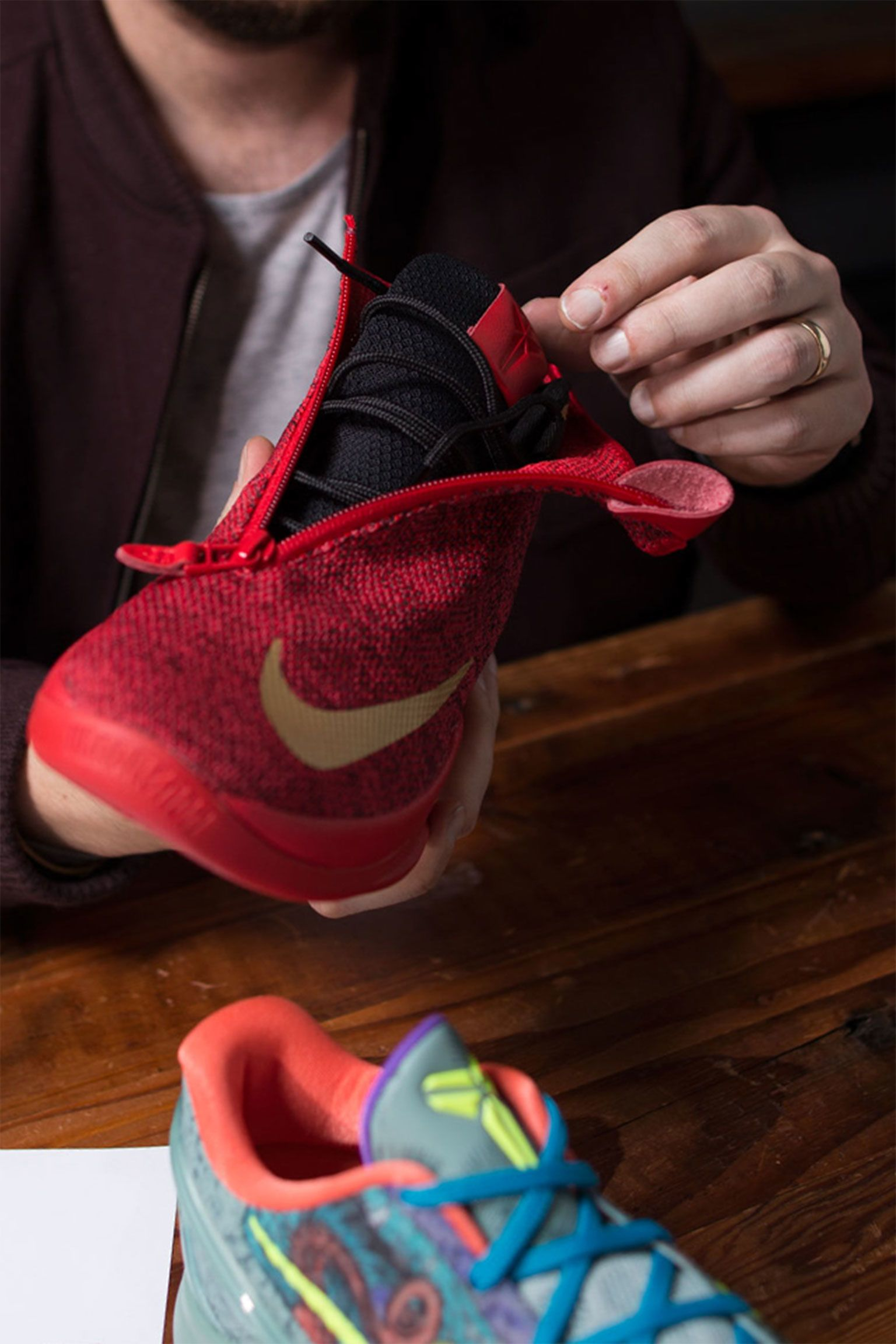 À l'origine du concept : Nike Zoom Kobe Icon