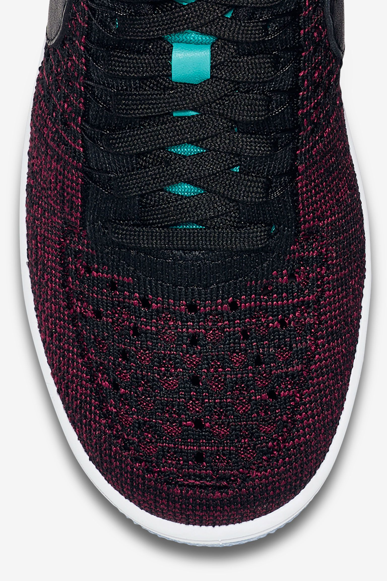 Women's Nike Air Force 1 Ultra Flyknit Low 'Team Red & Clear Jade' Release Date