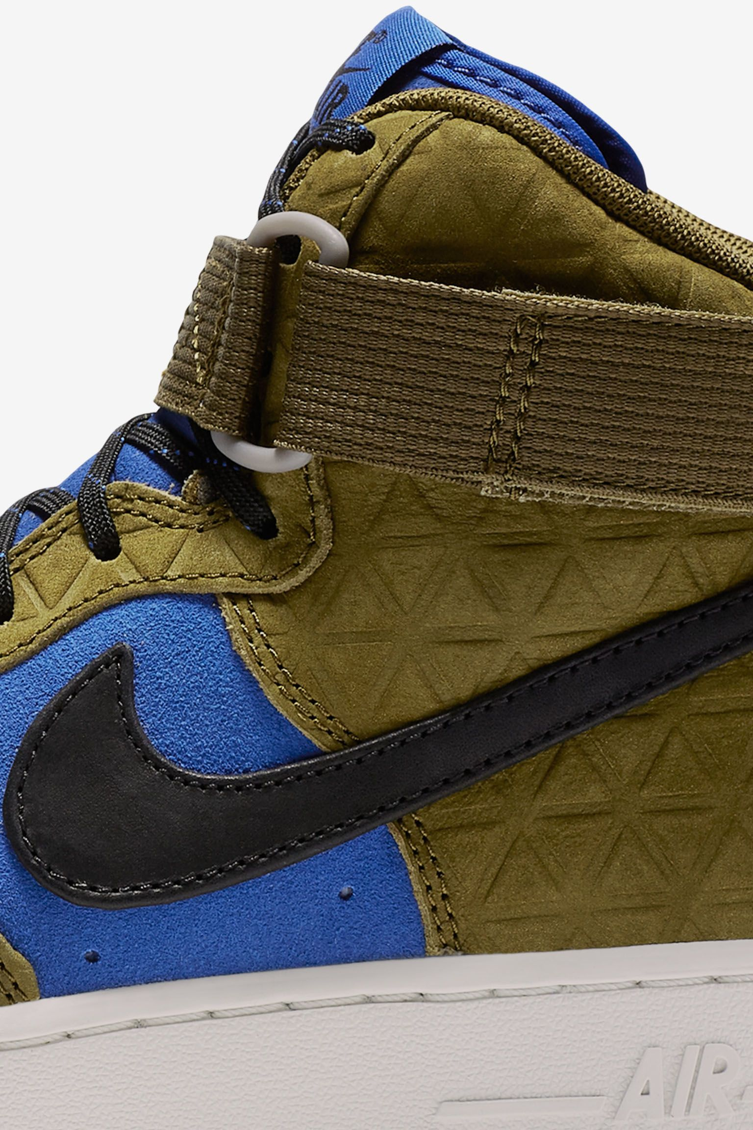 Women's Nike Air Force 1 Hi 'Olive & Mid Turquoise'