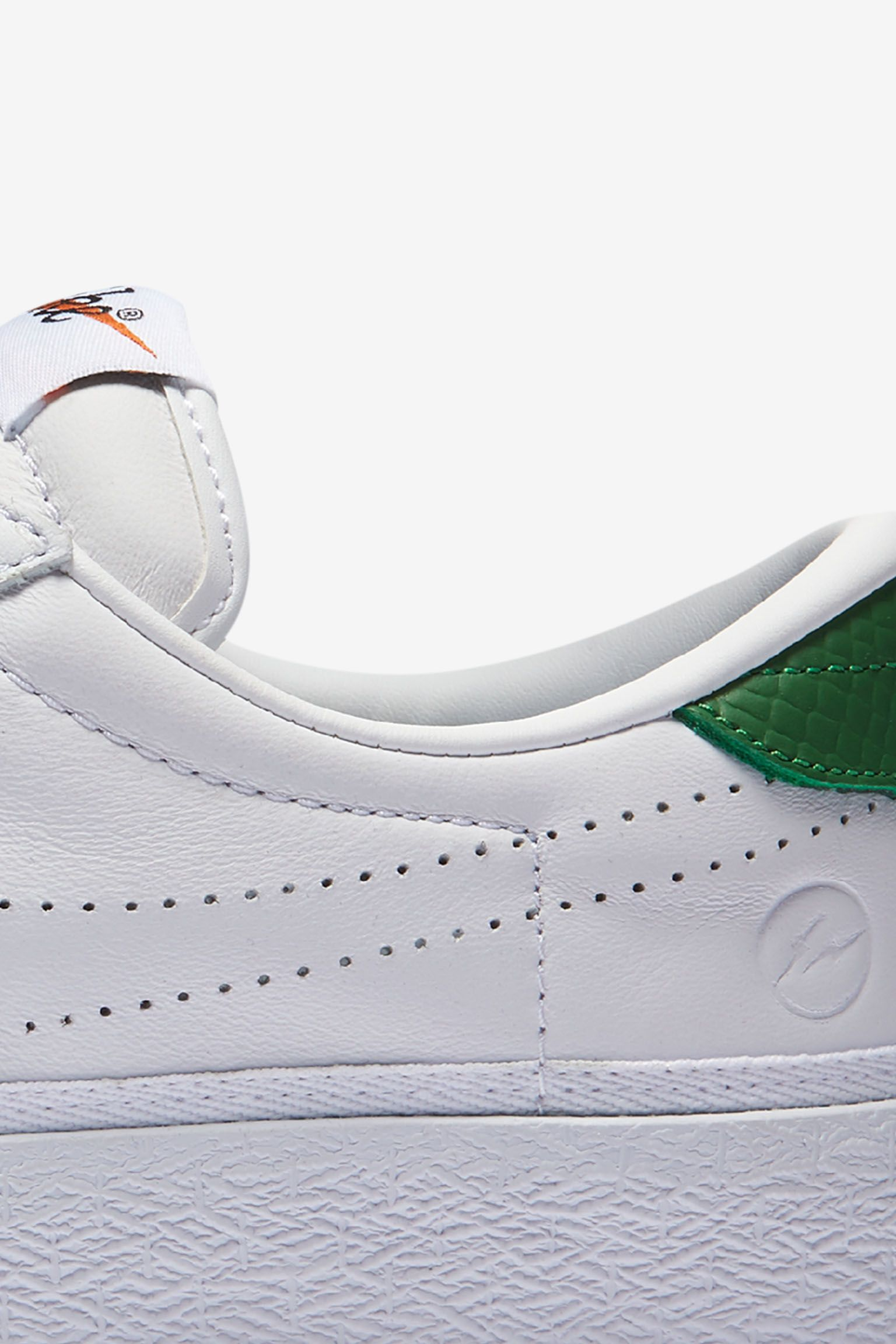 Women's NikeLab x Fragment Zoom Tennis Classic 'White & Apple Green'