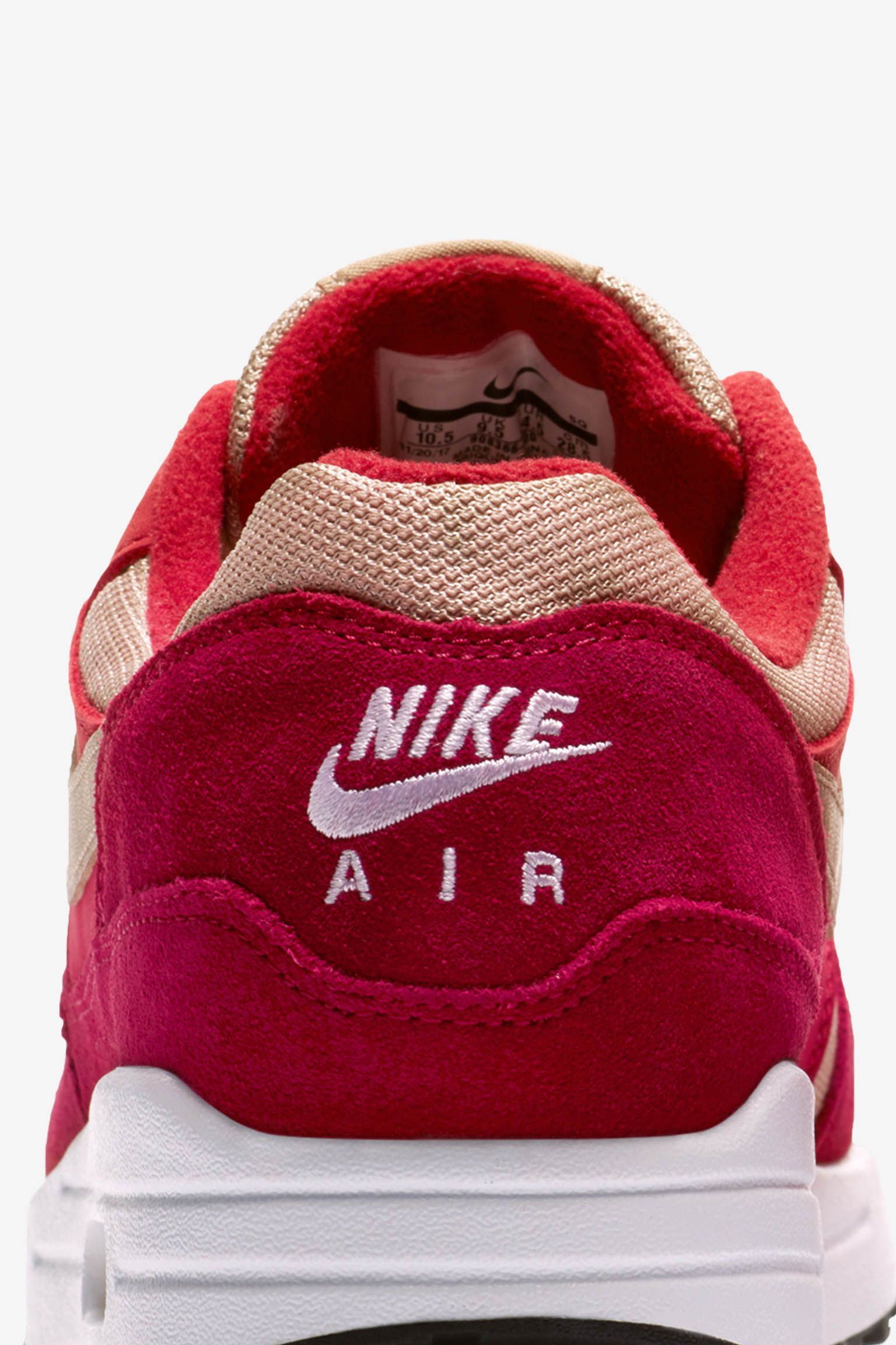 Nike Air Max 1 Premium 'Red Curry' Release Date