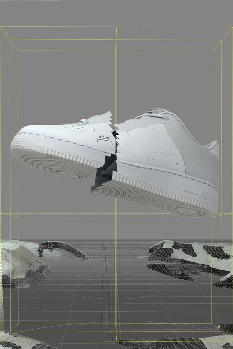 Nike Air Force 1 A-Cold-Wall* 'White' Release Date