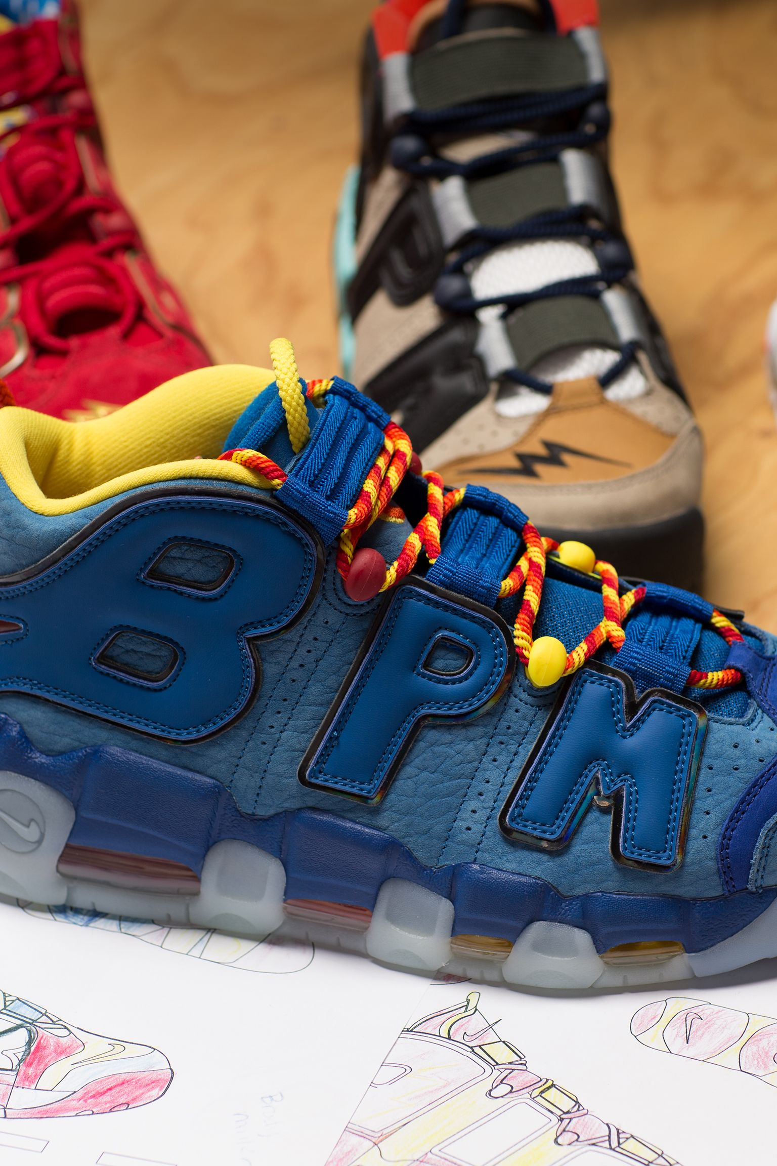 Behind The Design: Brody's Air More Uptempo 2017