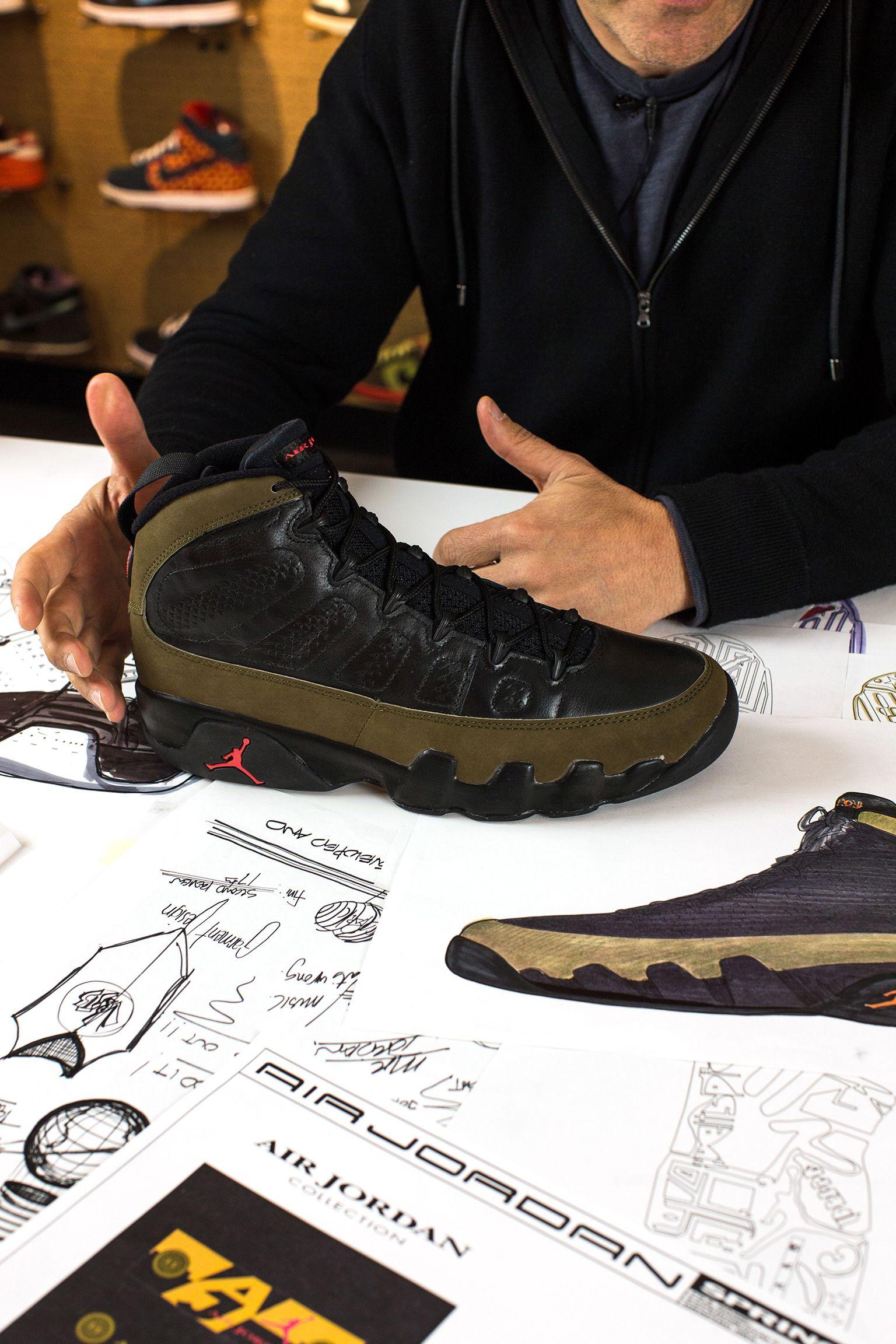 Bag om designet: Air Jordan 9-ydersålen