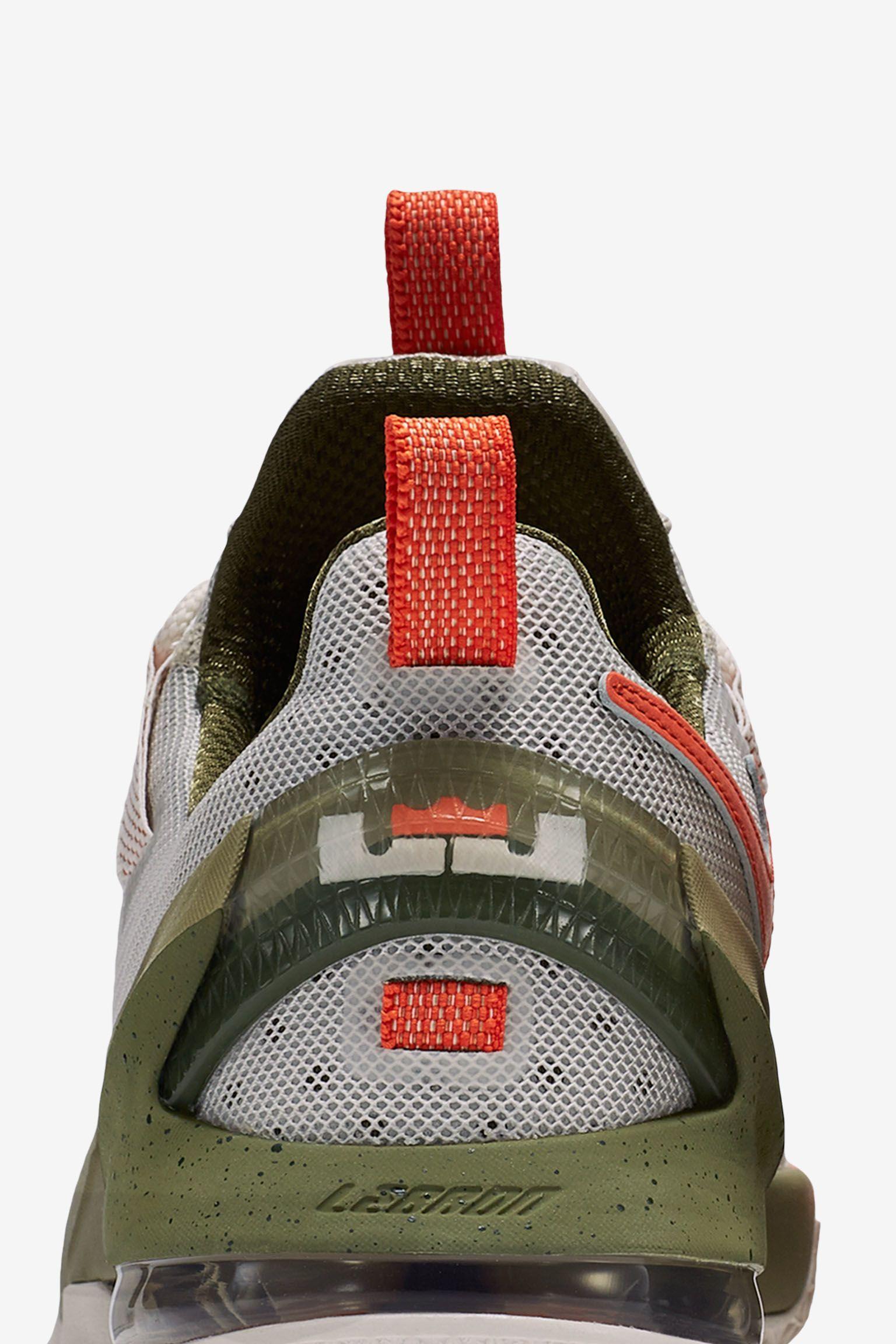 Nike LeBron 13 Low 'Phantom & Olive' Release Date