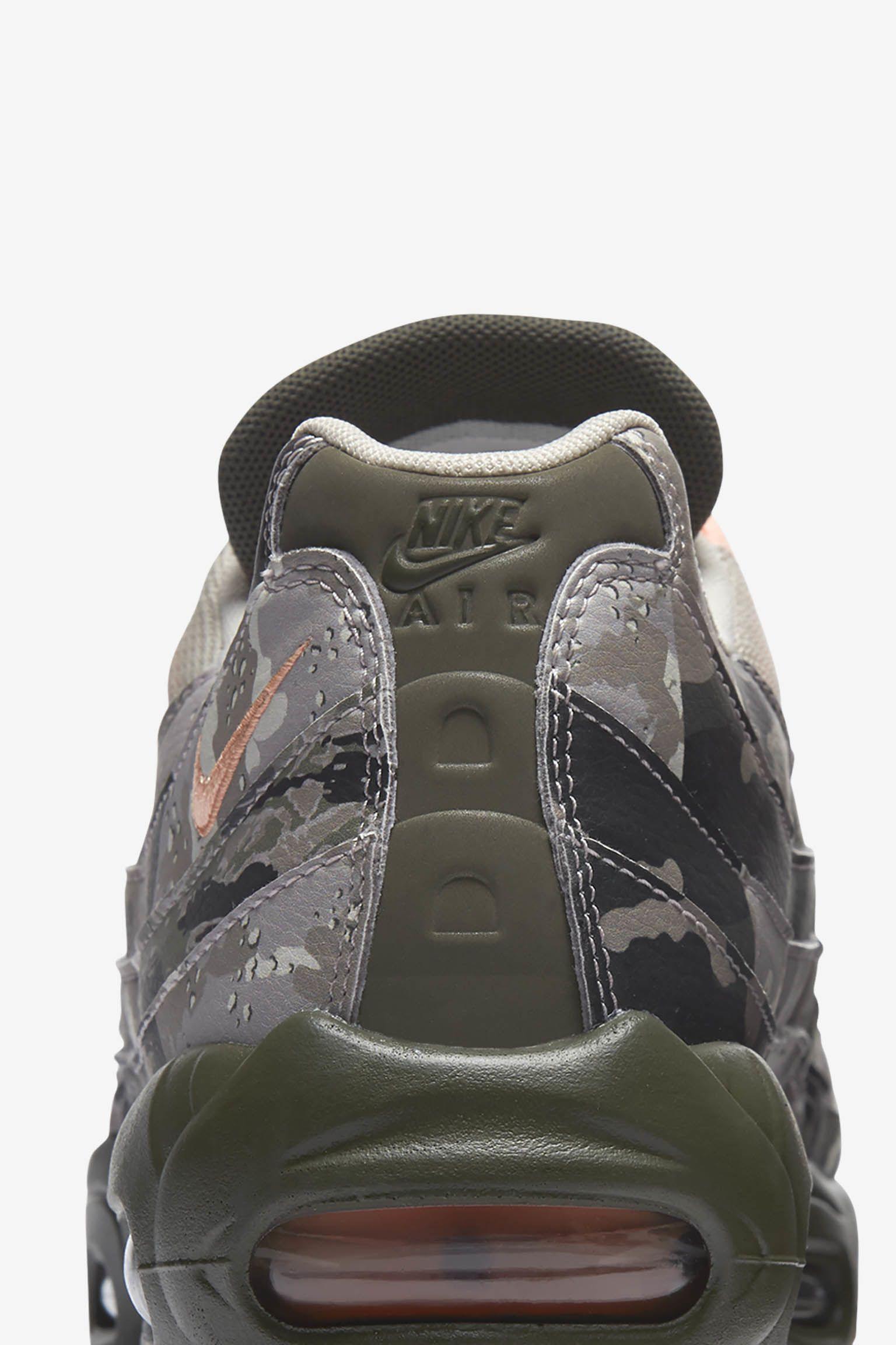 Nike Air Max 95 'Cargo Khaki & Sunset Tint' Release Date