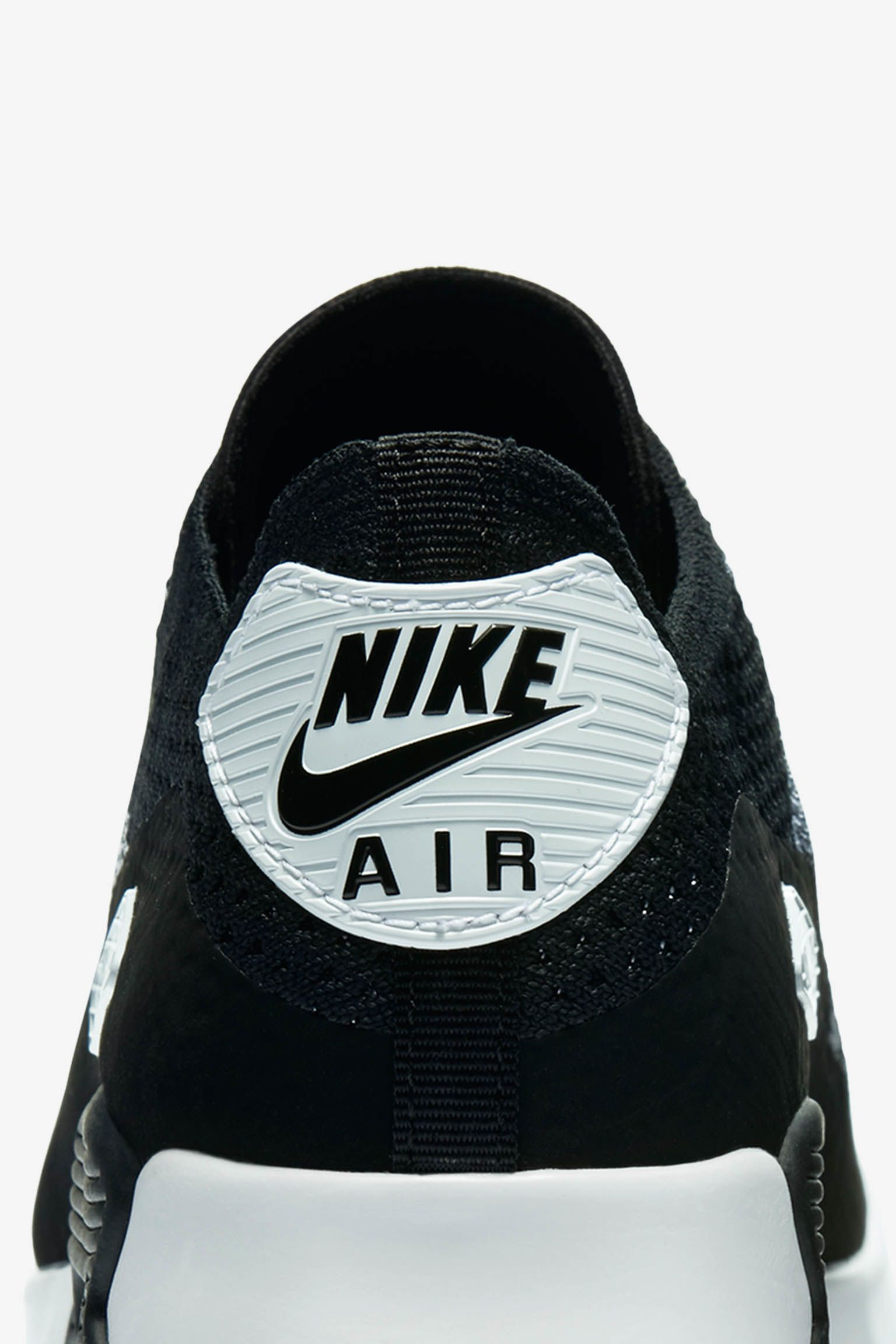 """Nike Air Max 90 Ultra 2.0 Flyknit """"Black & Anthracite"""" - Donna"""