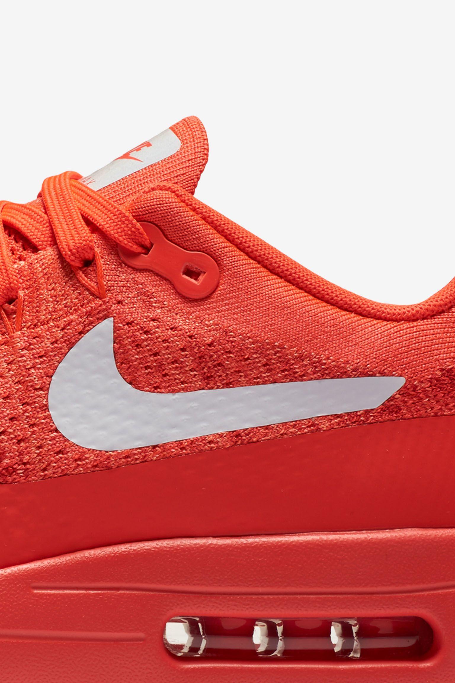 National Air: Nike Air Max 1 Ultra Flyknit 'Bright Crimson'